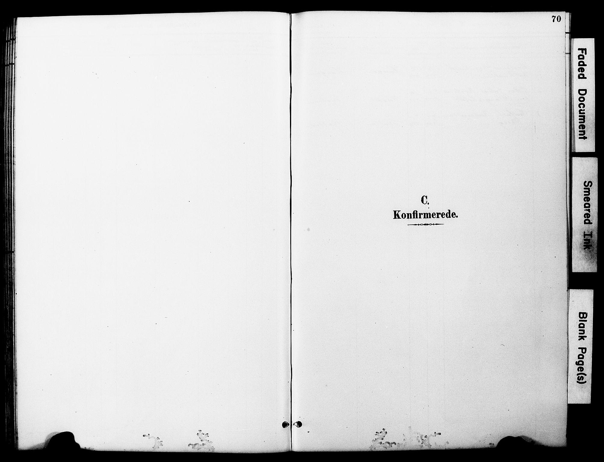 SAT, Ministerialprotokoller, klokkerbøker og fødselsregistre - Nord-Trøndelag, 722/L0226: Klokkerbok nr. 722C02, 1889-1927, s. 70
