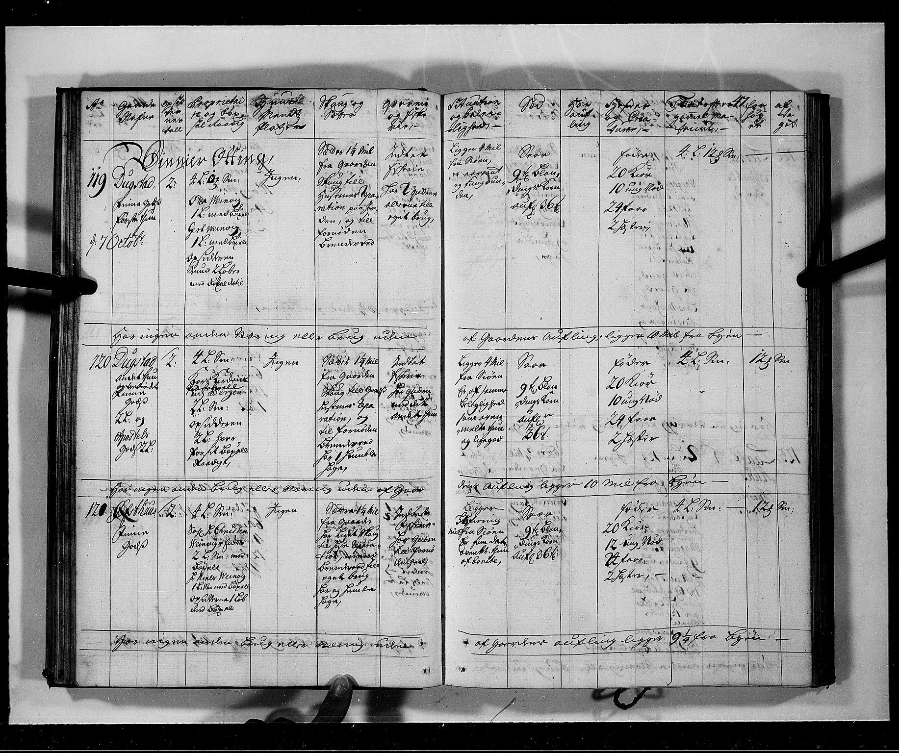 RA, Rentekammeret inntil 1814, Realistisk ordnet avdeling, N/Nb/Nbf/L0141: Voss eksaminasjonsprotokoll, 1723, s. 46b-47a