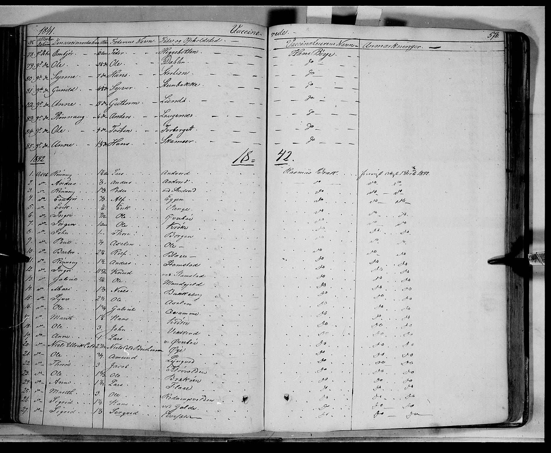 SAH, Lom prestekontor, K/L0006: Ministerialbok nr. 6B, 1837-1863, s. 576