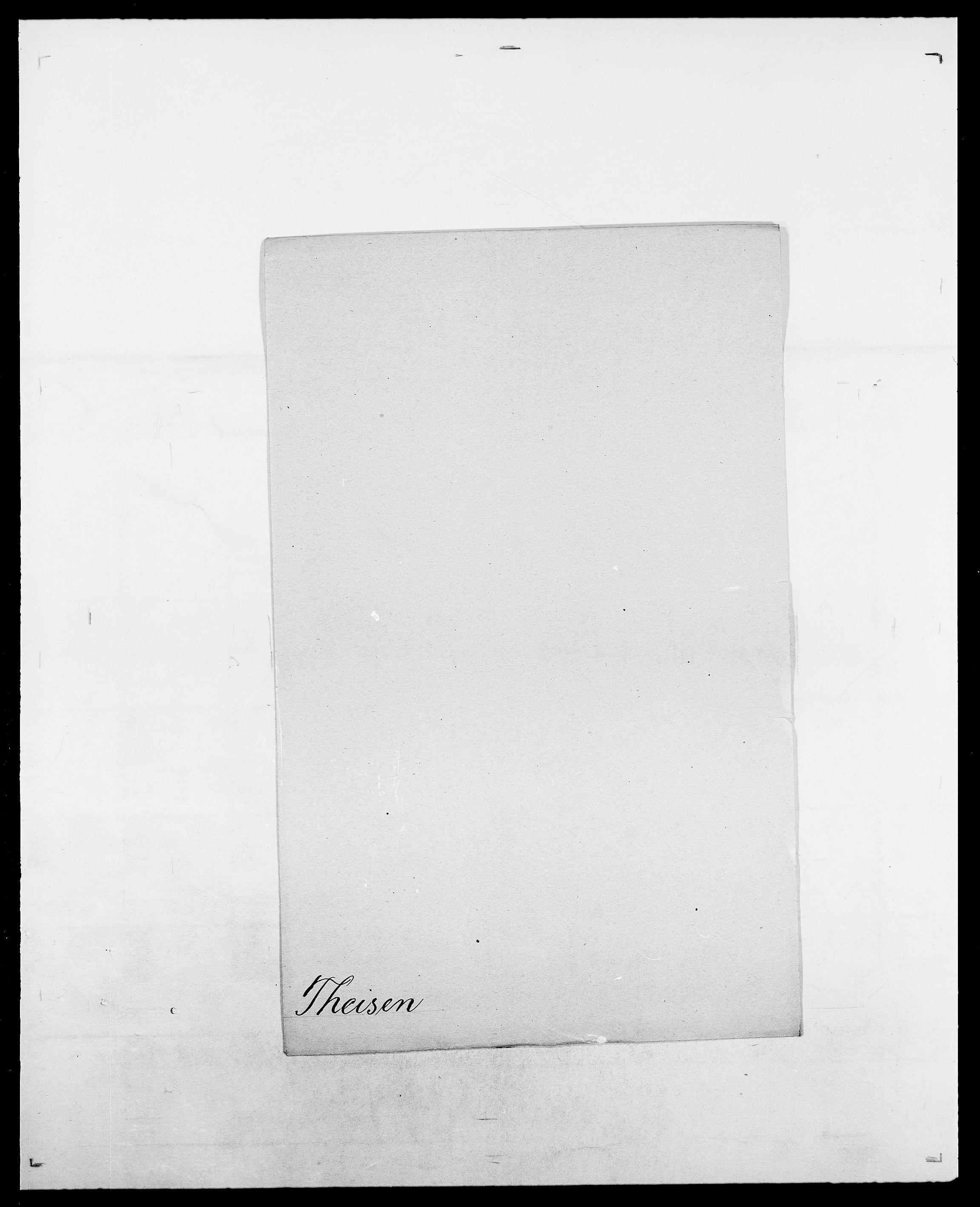 SAO, Delgobe, Charles Antoine - samling, D/Da/L0038: Svanenskjold - Thornsohn, s. 474