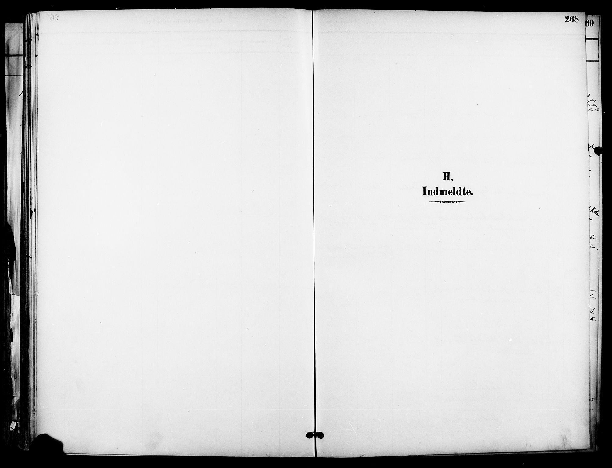 SAO, Garnisonsmenigheten Kirkebøker, F/Fa/L0013: Ministerialbok nr. 13, 1894-1904, s. 268
