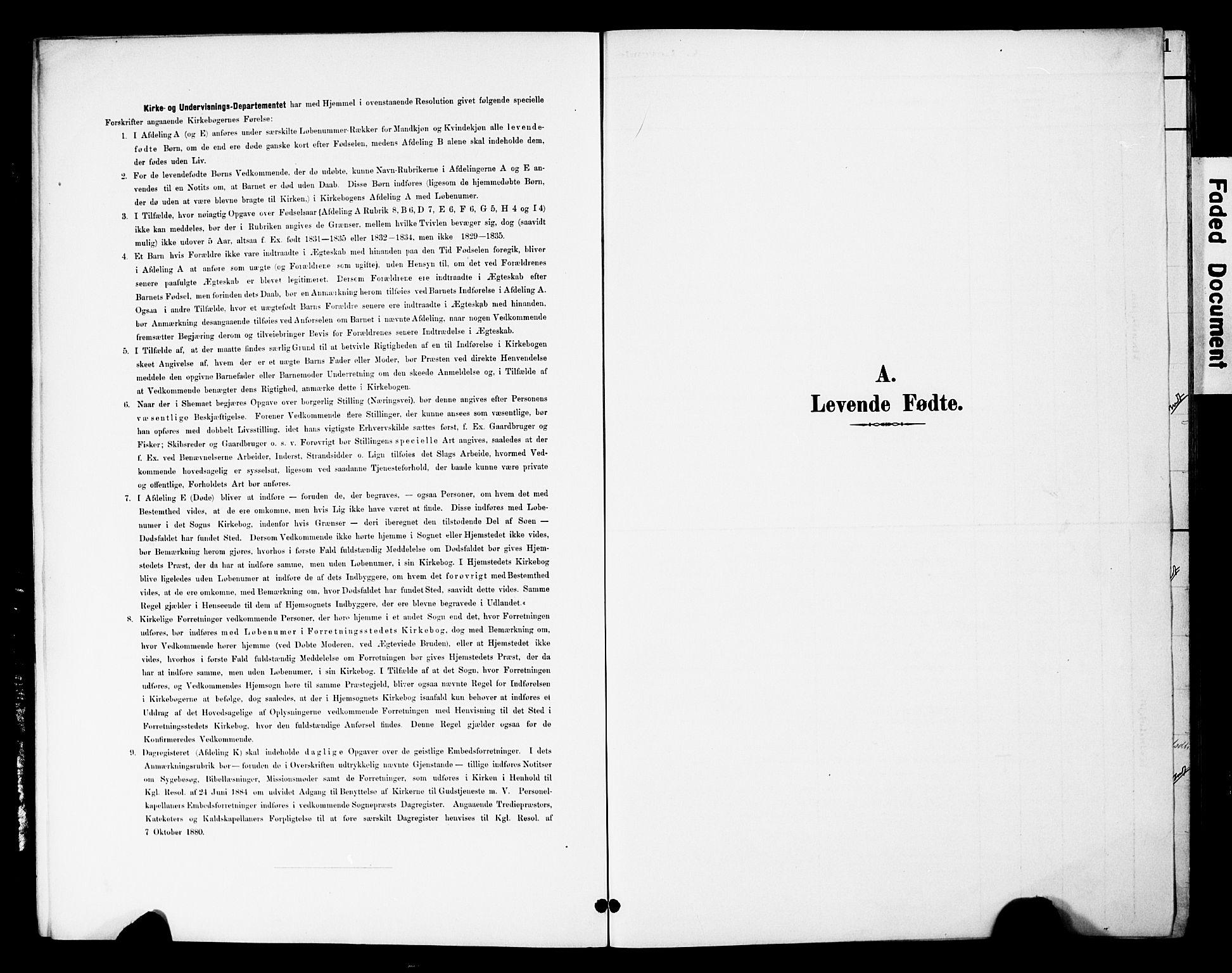 SAH, Øystre Slidre prestekontor, Klokkerbok nr. 5, 1887-1910