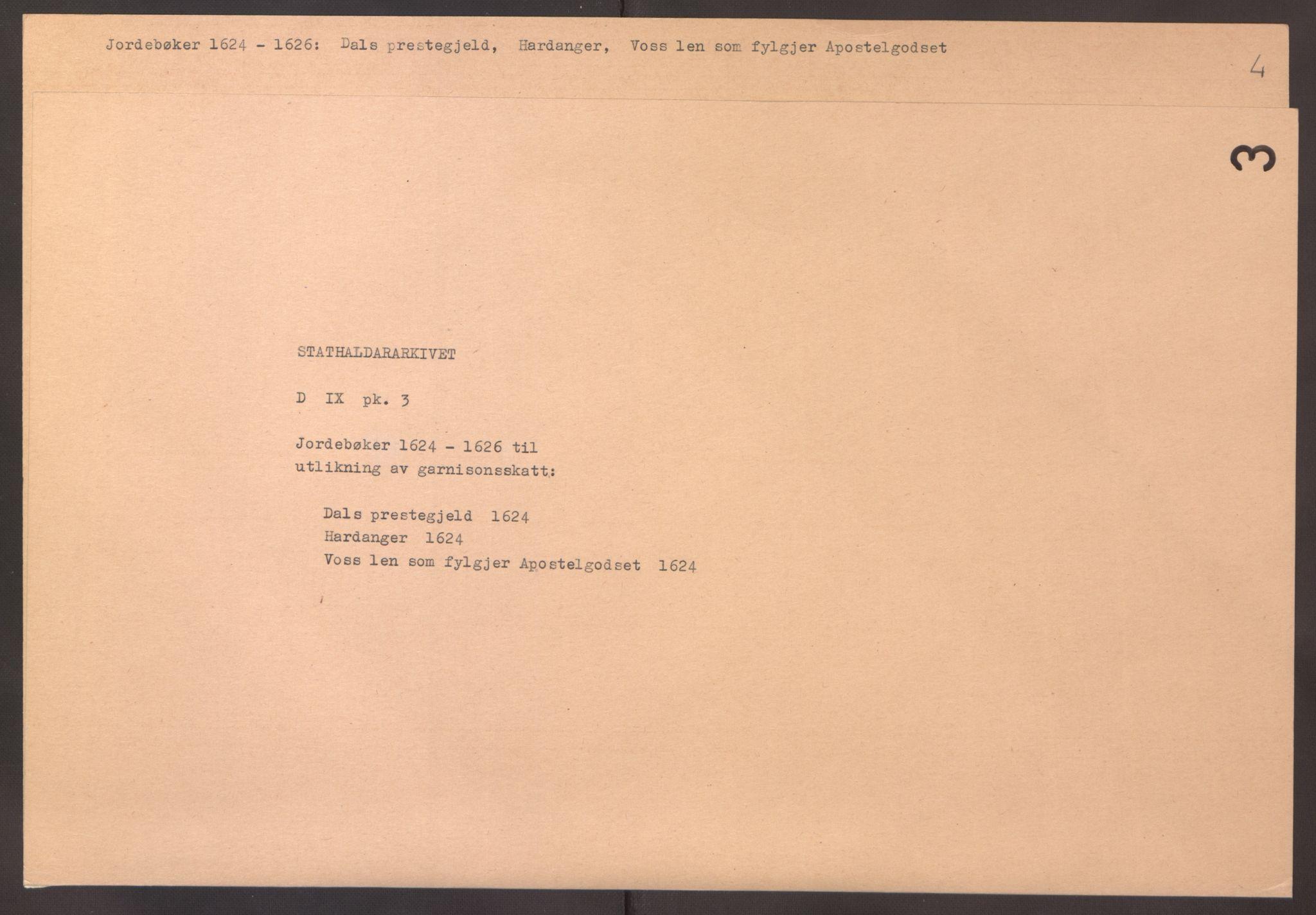 RA, Stattholderembetet 1572-1771, Ek/L0003: Jordebøker til utlikning av garnisonsskatt 1624-1626:, 1624-1625, s. 183