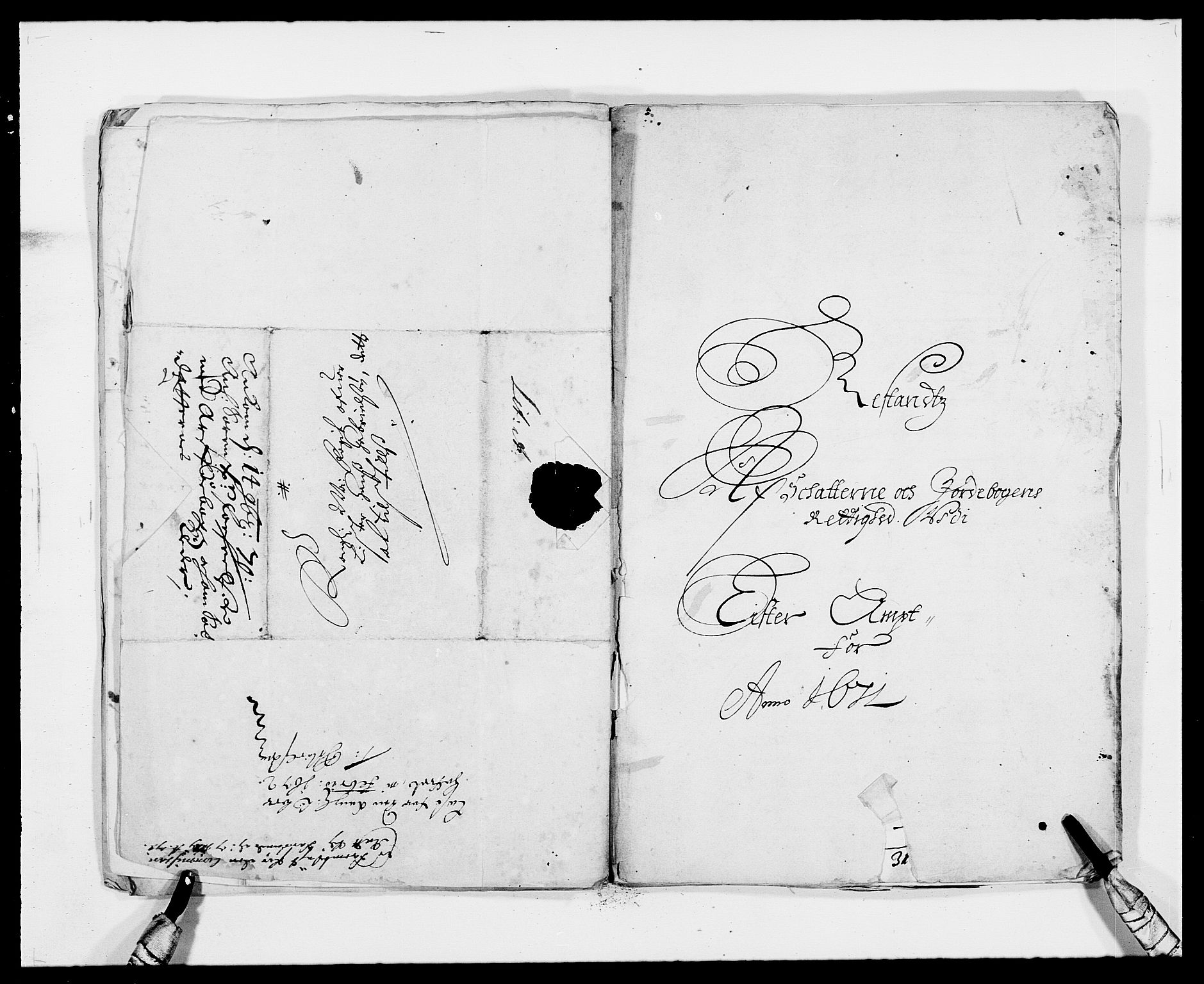 RA, Rentekammeret inntil 1814, Reviderte regnskaper, Fogderegnskap, R41/L2527: Fogderegnskap Lista, 1672, s. 205
