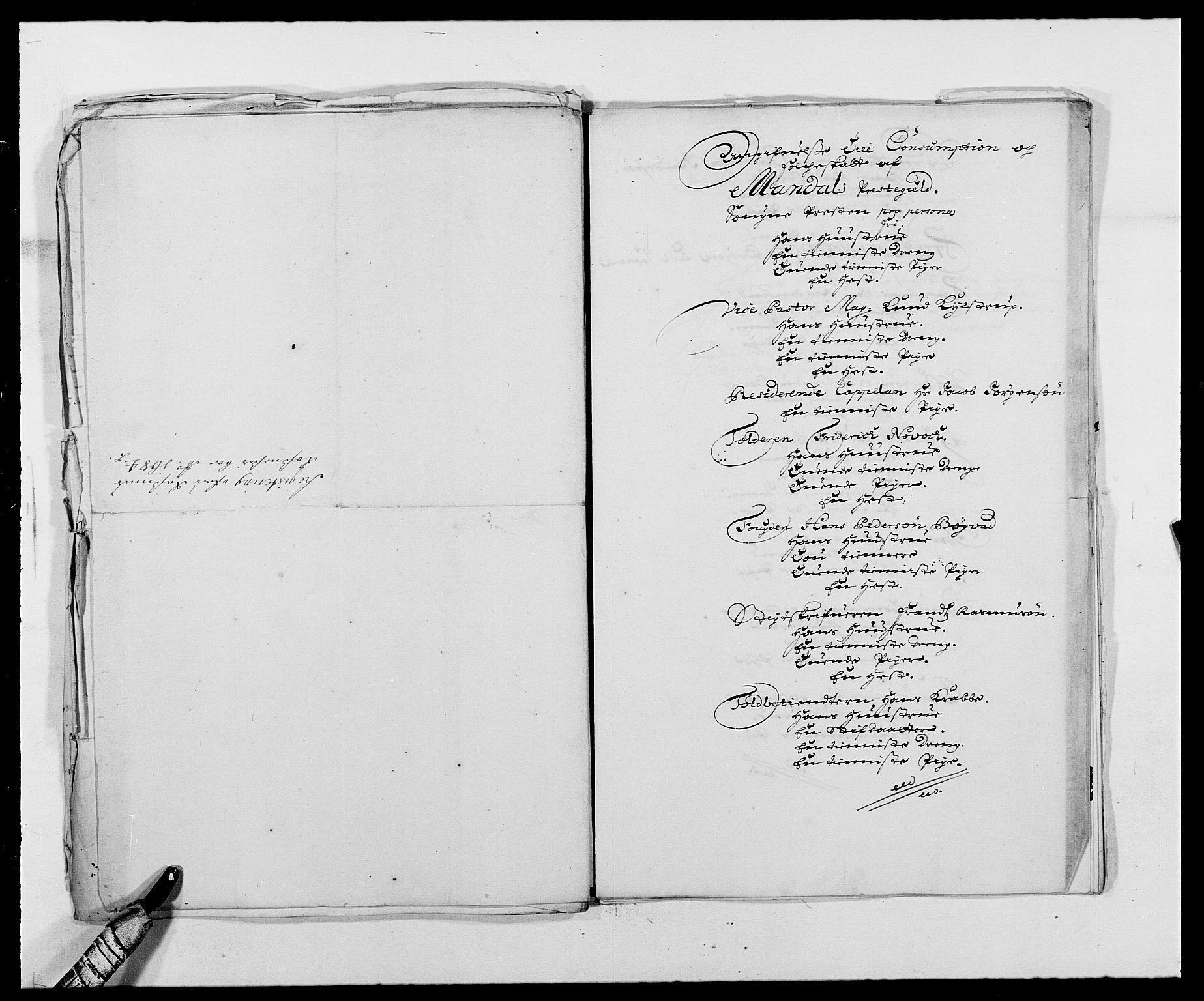 RA, Rentekammeret inntil 1814, Reviderte regnskaper, Fogderegnskap, R42/L2541: Mandal fogderi, 1681-1684, s. 289