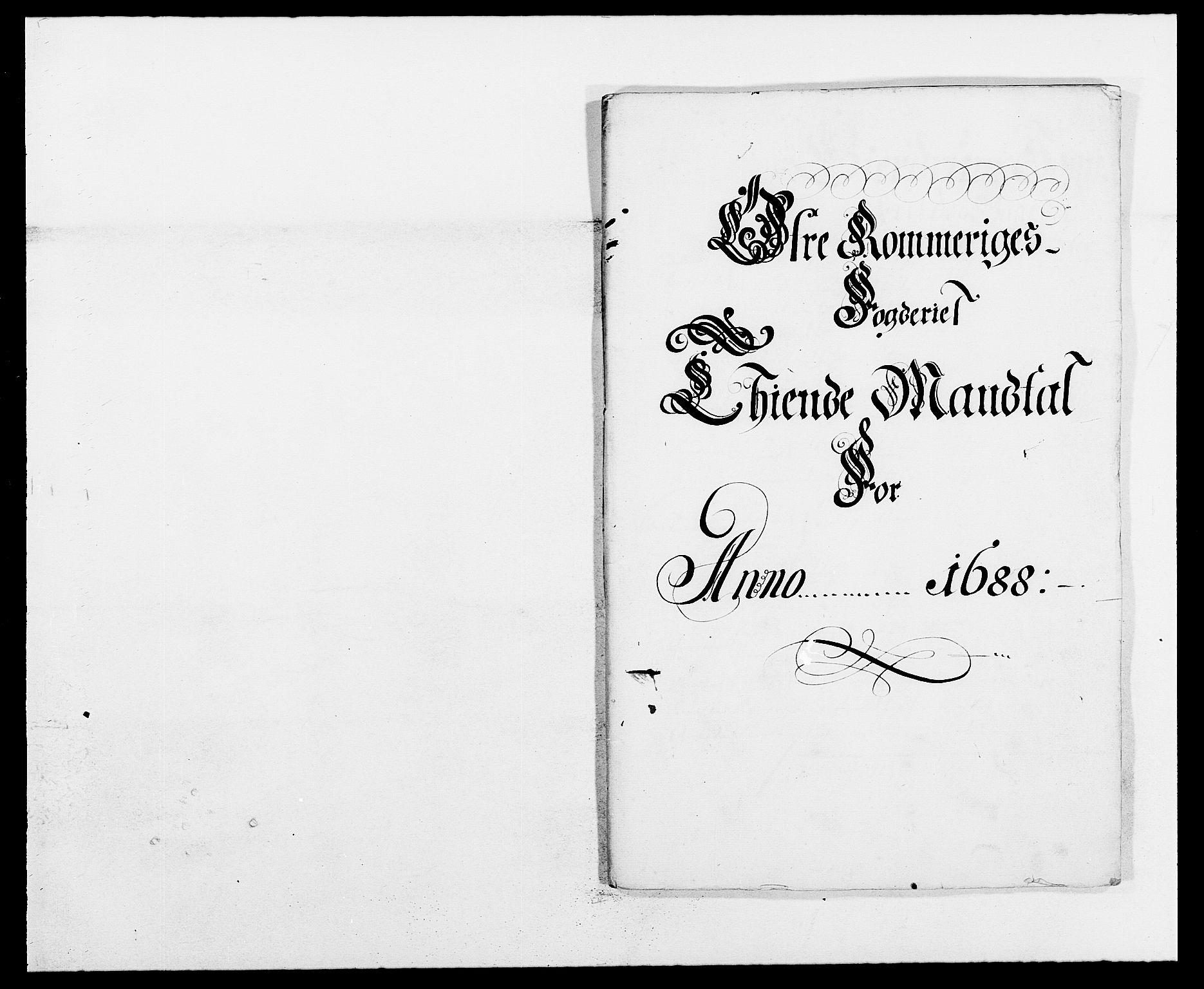 RA, Rentekammeret inntil 1814, Reviderte regnskaper, Fogderegnskap, R12/L0700: Fogderegnskap Øvre Romerike, 1687-1688, s. 268