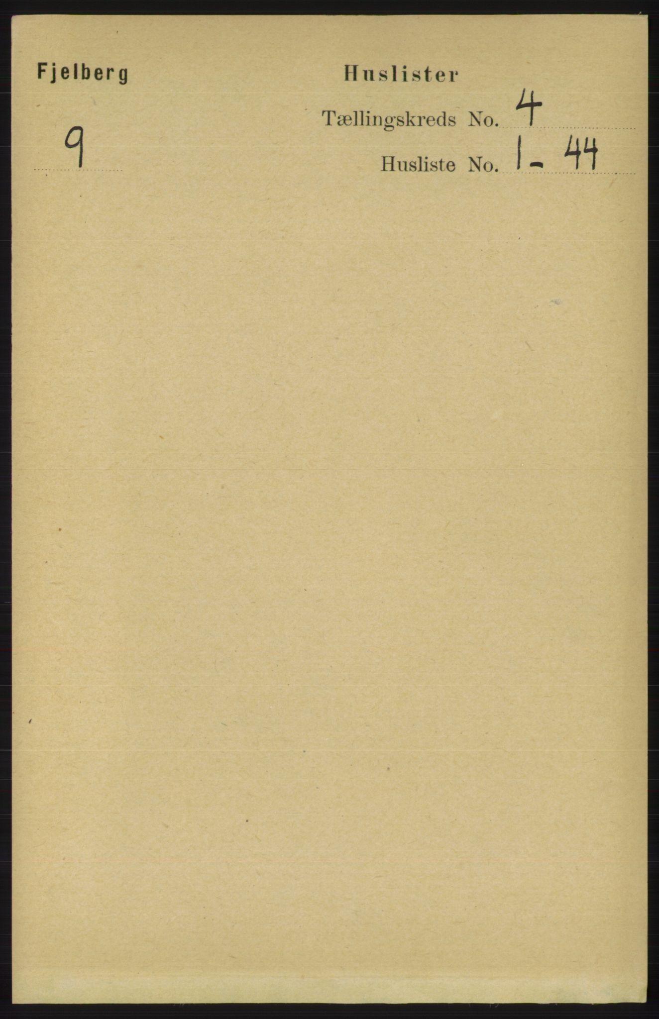 RA, Folketelling 1891 for 1213 Fjelberg herred, 1891, s. 1125