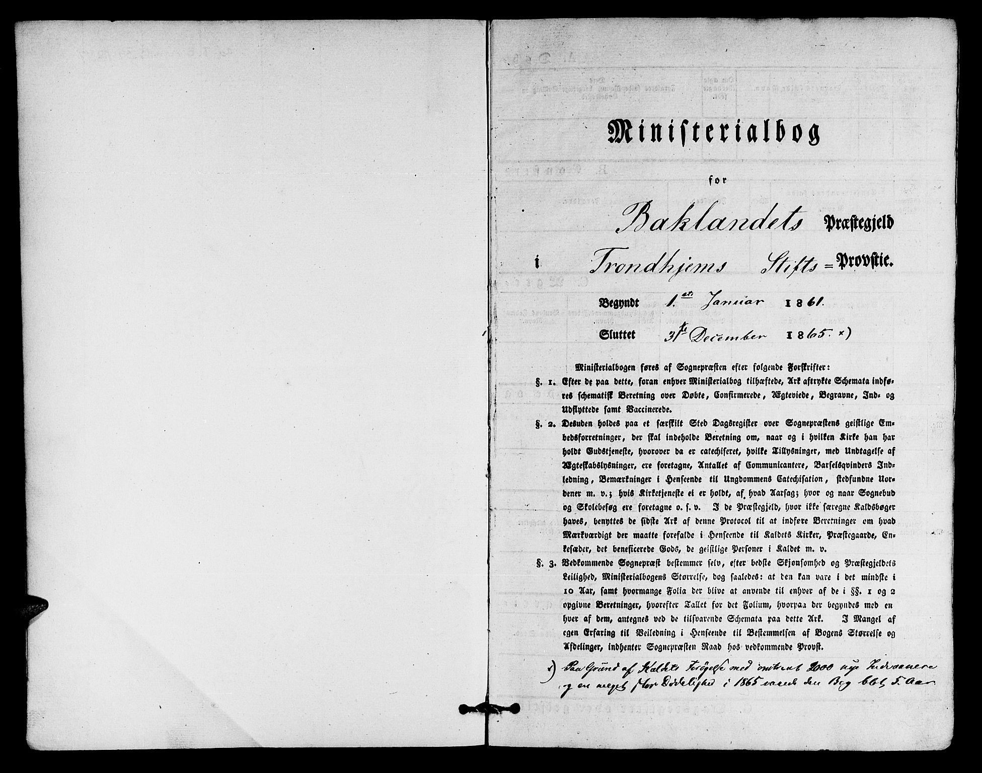 SAT, Ministerialprotokoller, klokkerbøker og fødselsregistre - Sør-Trøndelag, 604/L0185: Ministerialbok nr. 604A06, 1861-1865