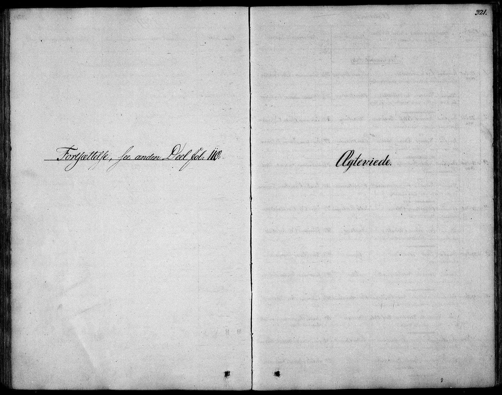 SAO, Garnisonsmenigheten Kirkebøker, F/Fa/L0006: Ministerialbok nr. 6, 1828-1841, s. 321