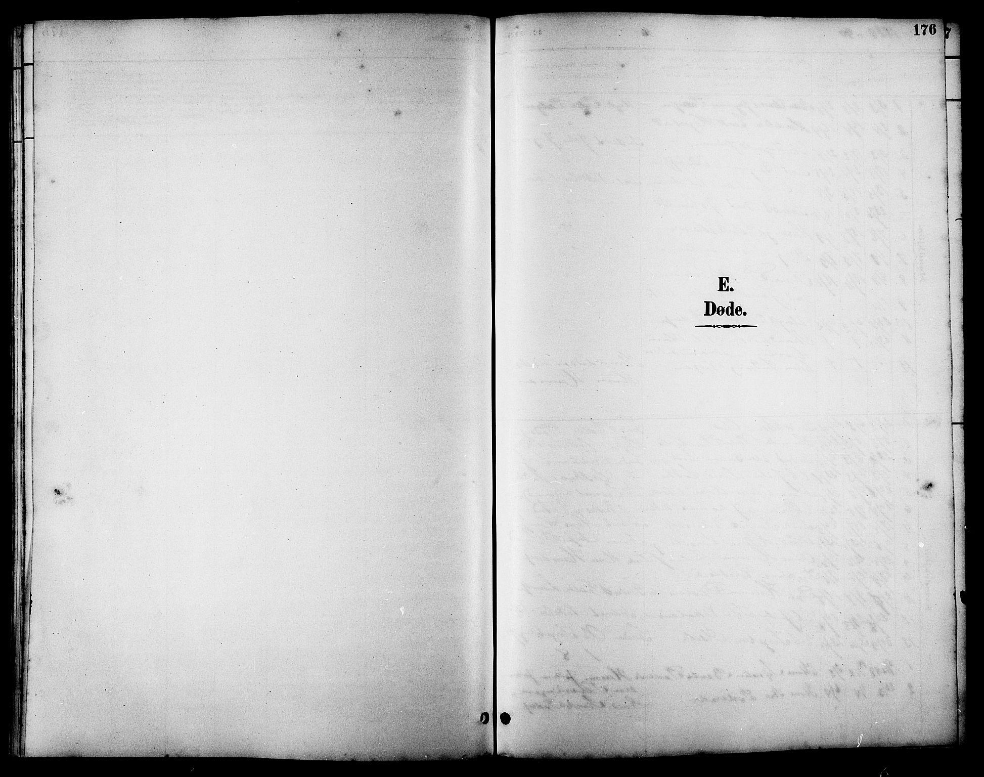 SAT, Ministerialprotokoller, klokkerbøker og fødselsregistre - Sør-Trøndelag, 657/L0716: Klokkerbok nr. 657C03, 1889-1904, s. 176