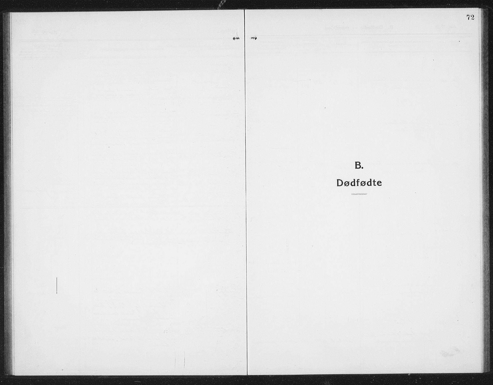 SAT, Ministerialprotokoller, klokkerbøker og fødselsregistre - Sør-Trøndelag, 675/L0888: Klokkerbok nr. 675C01, 1913-1935, s. 72