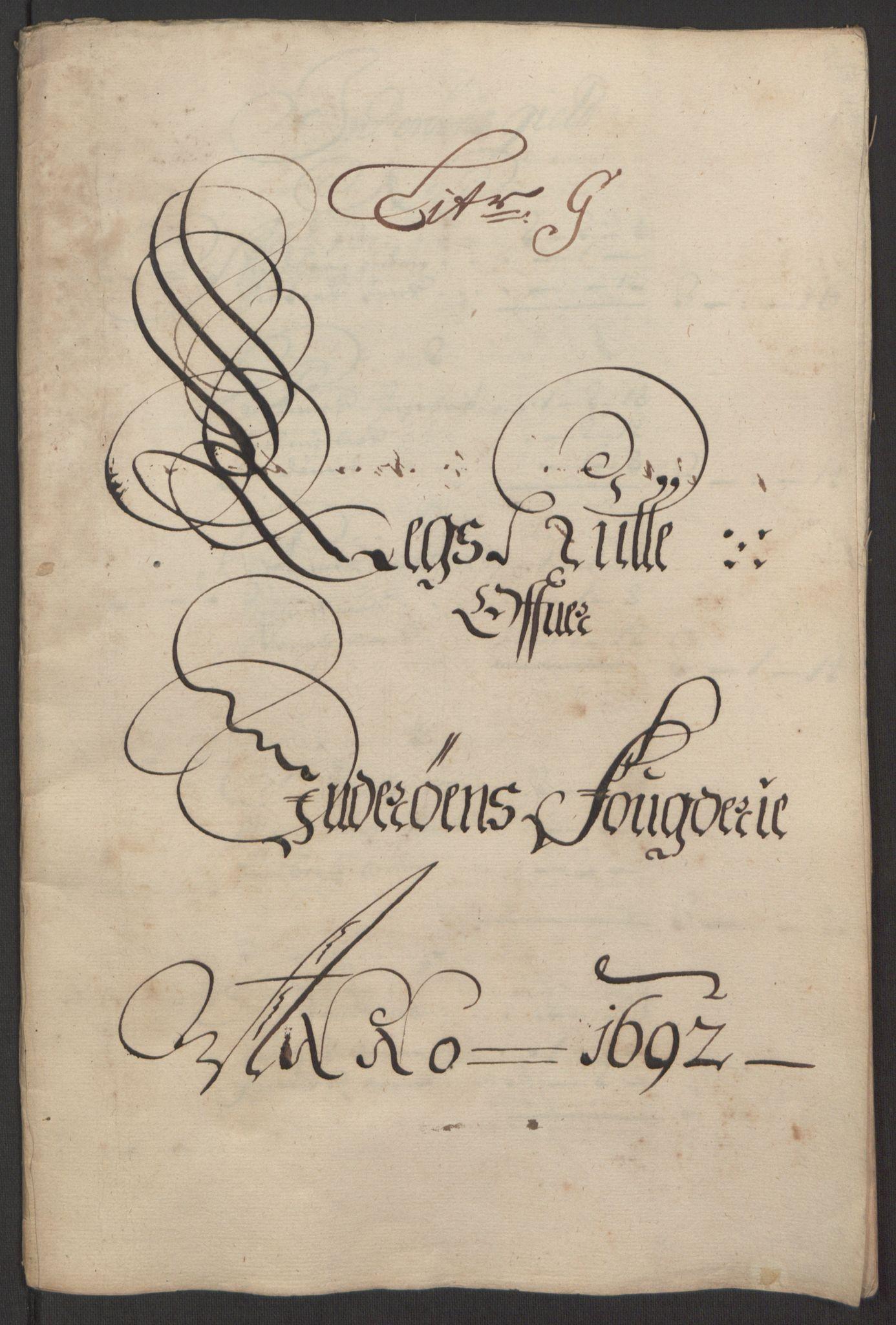 RA, Rentekammeret inntil 1814, Reviderte regnskaper, Fogderegnskap, R63/L4308: Fogderegnskap Inderøy, 1692-1694, s. 93