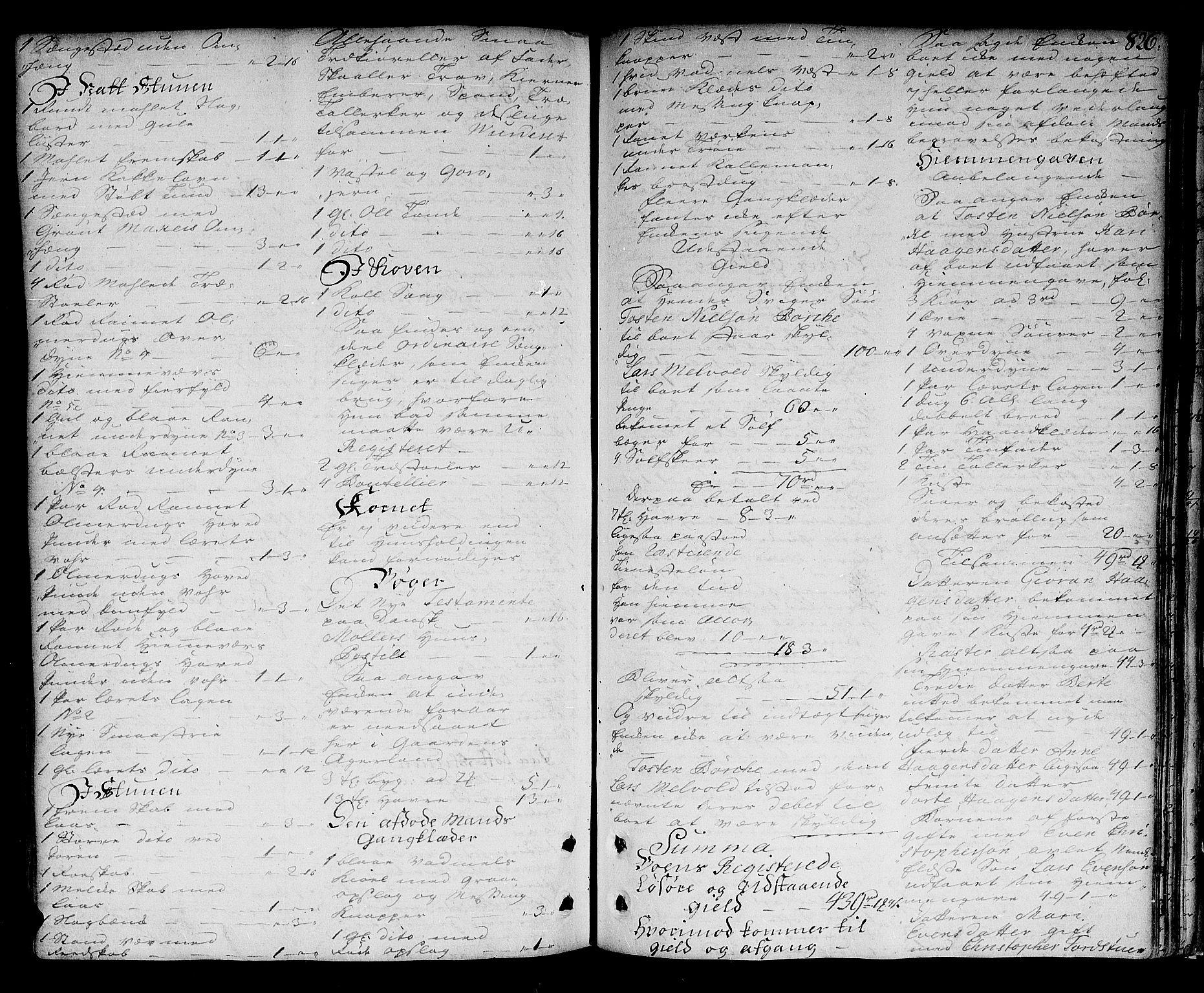 SAO, Nedre Romerike sorenskriveri, H/Hd/Hda/L0007a: Skifteprotokoll, 1747-1753, s. 825b-826a