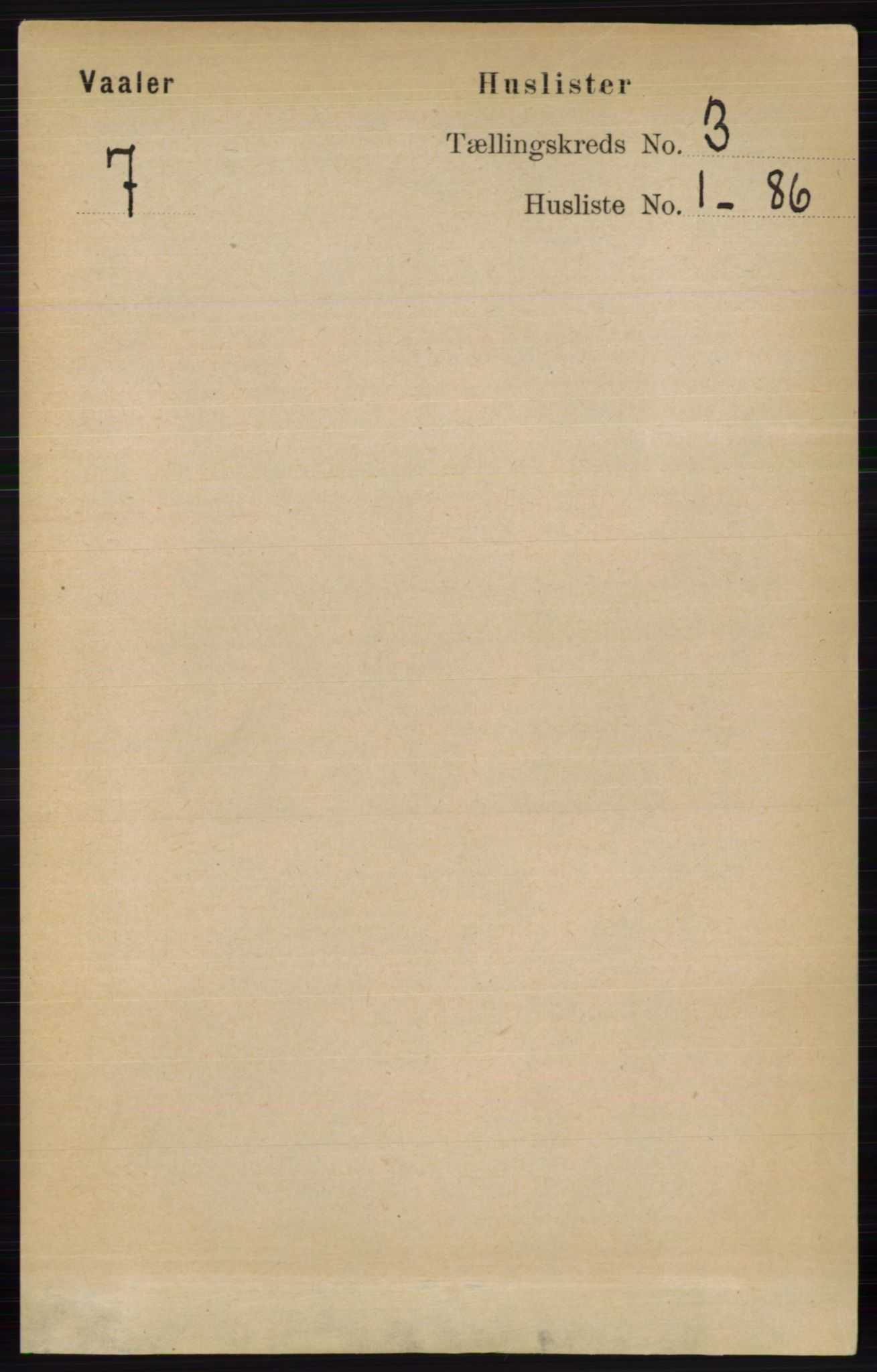 RA, Folketelling 1891 for 0426 Våler herred, 1891, s. 863