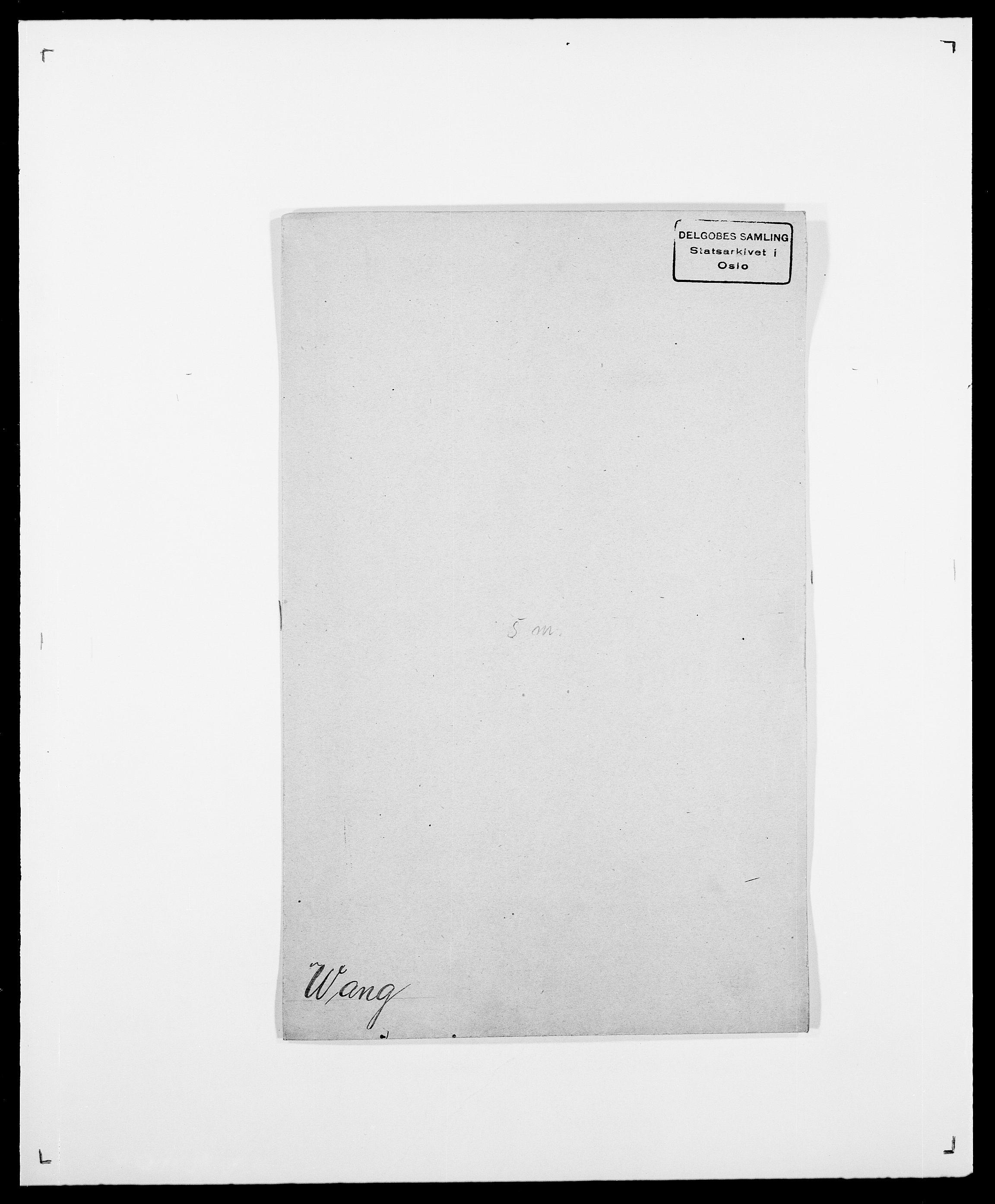 SAO, Delgobe, Charles Antoine - samling, D/Da/L0040: Usgaard - Velund, s. 288