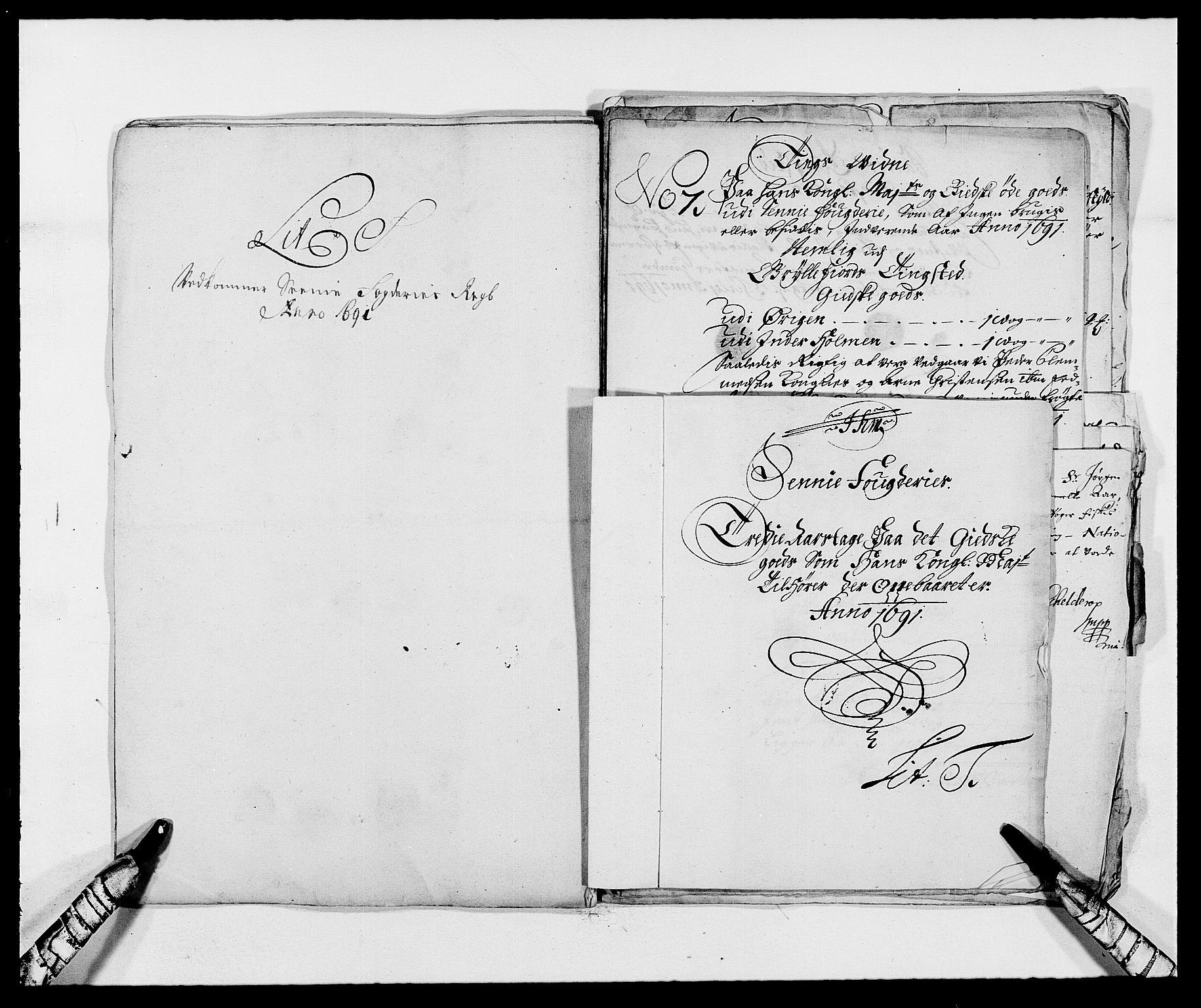 RA, Rentekammeret inntil 1814, Reviderte regnskaper, Fogderegnskap, R68/L4752: Fogderegnskap Senja og Troms, 1691-1693, s. 130