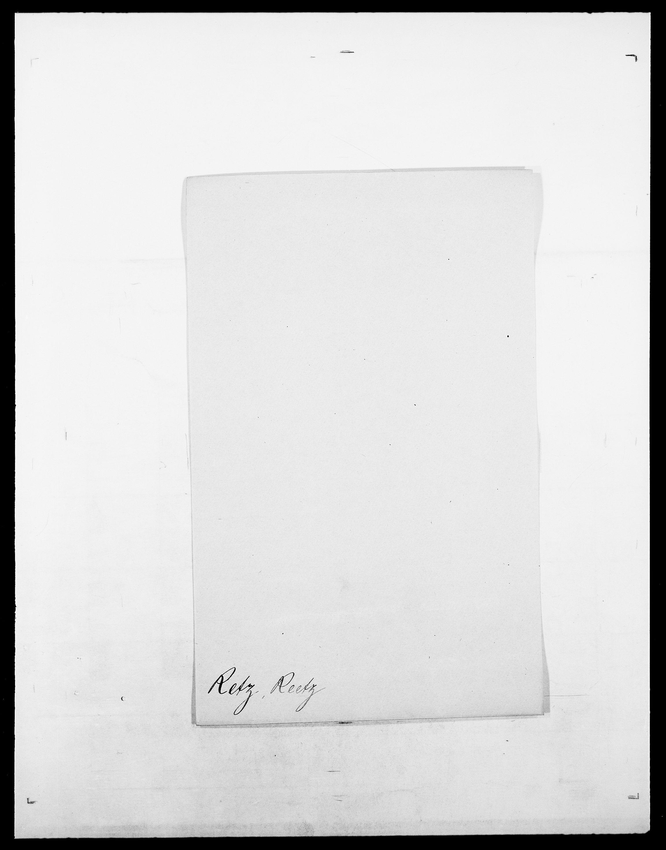 SAO, Delgobe, Charles Antoine - samling, D/Da/L0032: Rabakovsky - Rivertz, s. 448