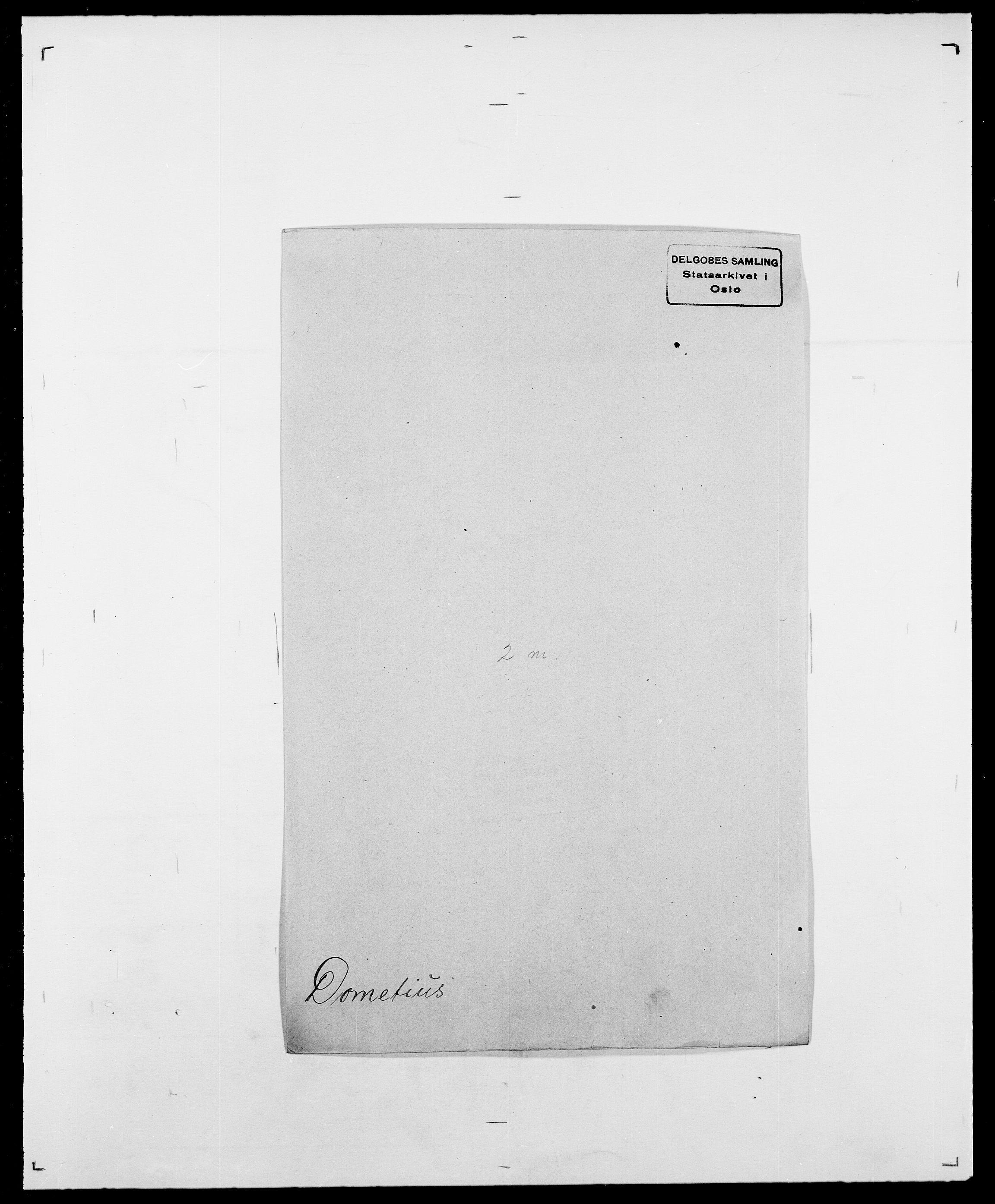 SAO, Delgobe, Charles Antoine - samling, D/Da/L0009: Dahl - v. Düren, s. 645