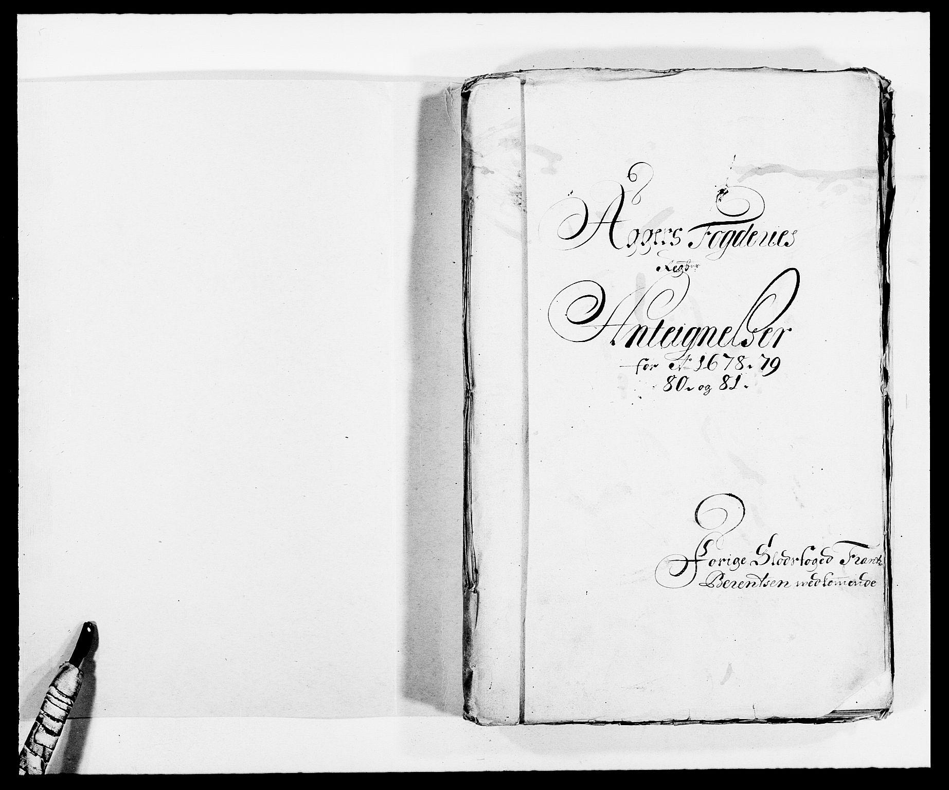 RA, Rentekammeret inntil 1814, Reviderte regnskaper, Fogderegnskap, R08/L0419: Fogderegnskap Aker, 1678-1681, s. 2