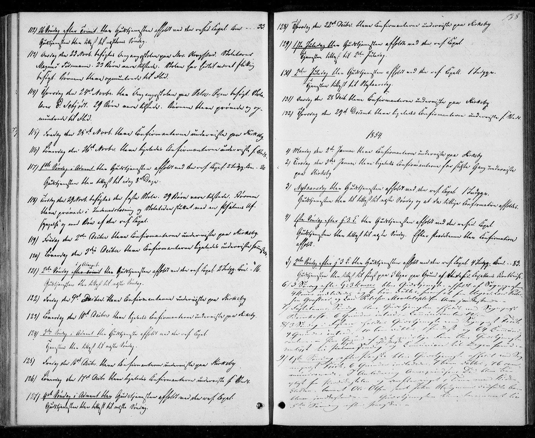 SAT, Ministerialprotokoller, klokkerbøker og fødselsregistre - Nord-Trøndelag, 706/L0040: Ministerialbok nr. 706A01, 1850-1861, s. 138