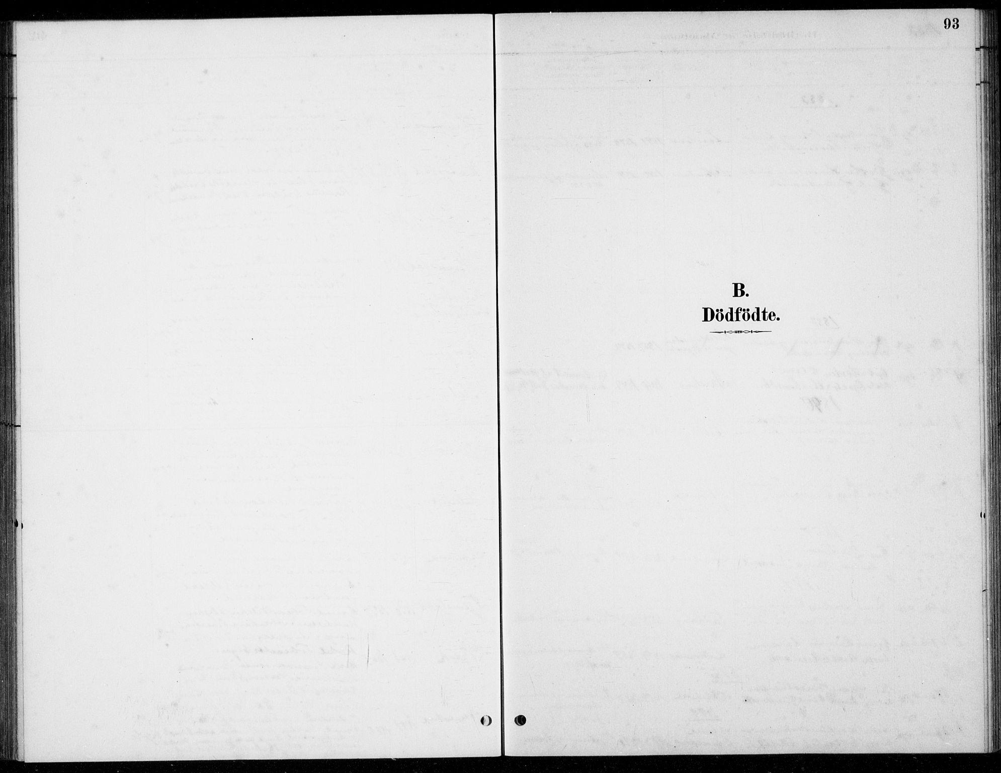 SAST, Hå sokneprestkontor, 30BB/L0004: Klokkerbok nr. B 4, 1883-1899, s. 93
