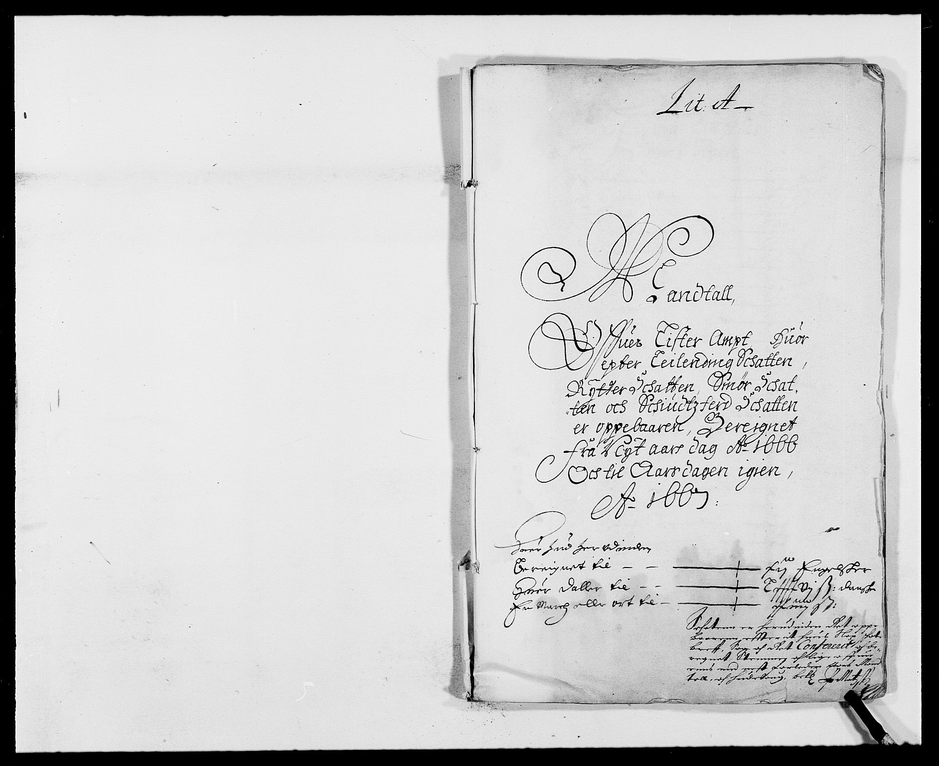 RA, Rentekammeret inntil 1814, Reviderte regnskaper, Fogderegnskap, R41/L2524: Fogderegnskap Lista, 1665-1668, s. 159