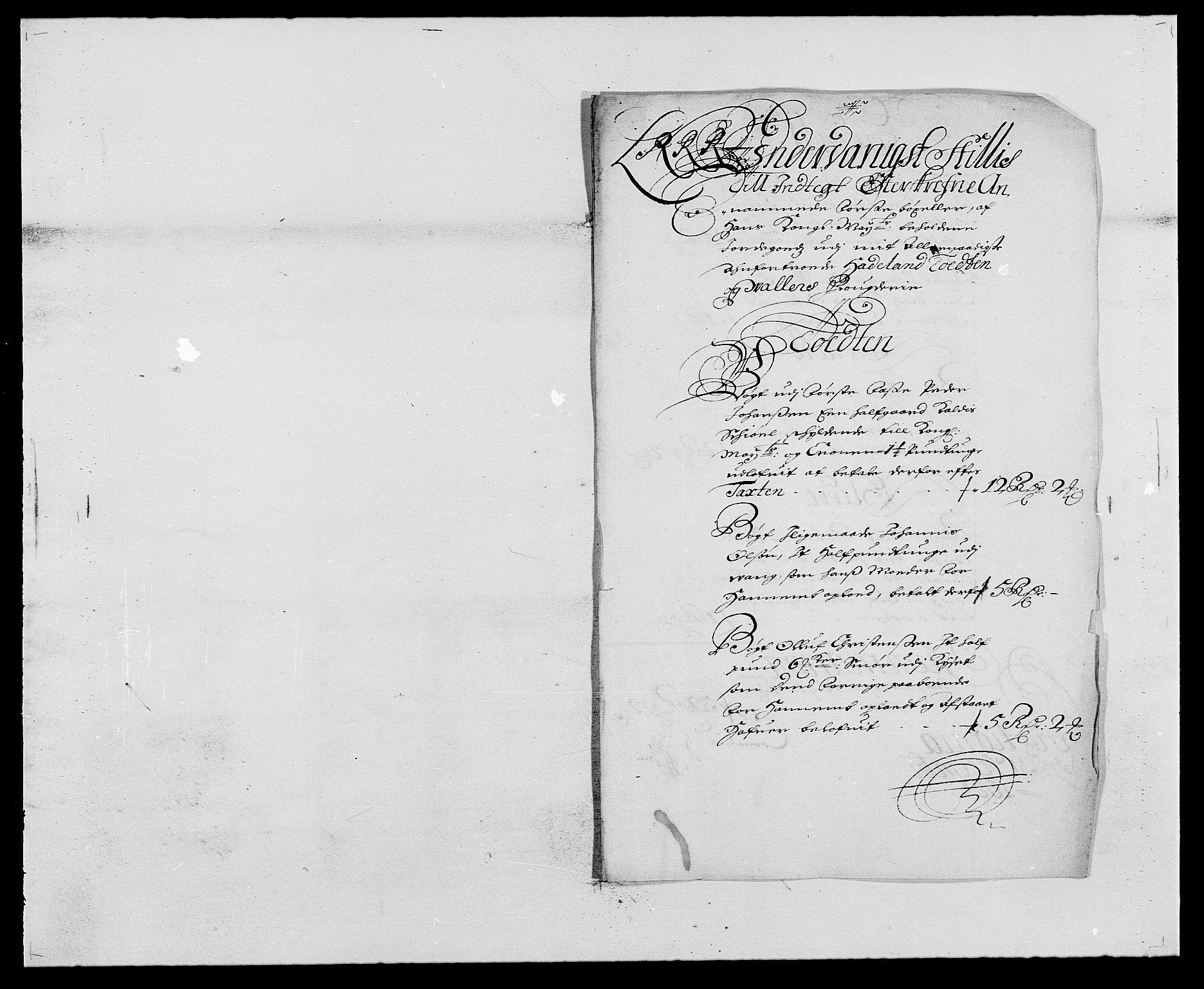 RA, Rentekammeret inntil 1814, Reviderte regnskaper, Fogderegnskap, R18/L1283: Fogderegnskap Hadeland, Toten og Valdres, 1684, s. 178