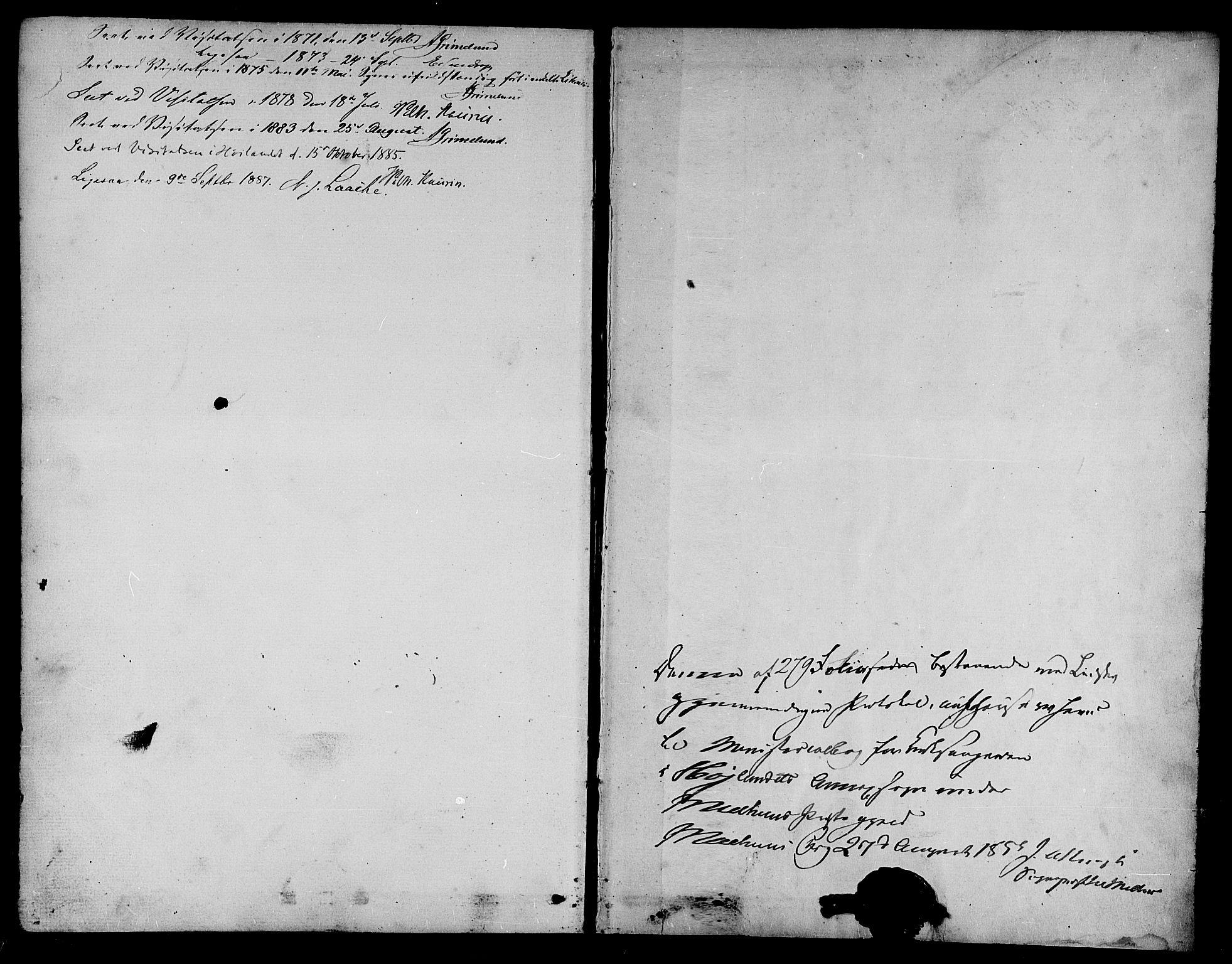 SAT, Ministerialprotokoller, klokkerbøker og fødselsregistre - Sør-Trøndelag, 694/L1131: Klokkerbok nr. 694C03, 1858-1886