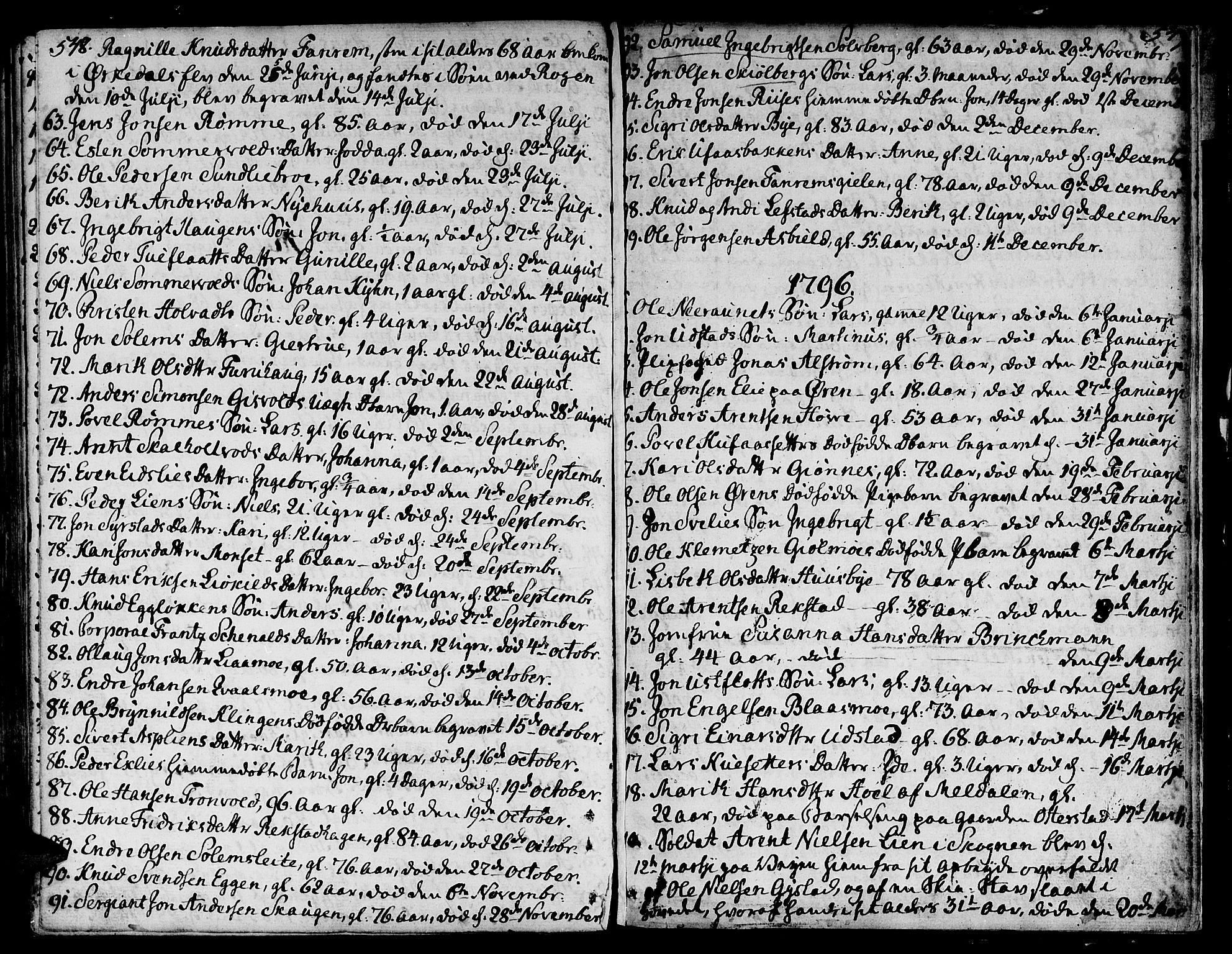 SAT, Ministerialprotokoller, klokkerbøker og fødselsregistre - Sør-Trøndelag, 668/L0802: Ministerialbok nr. 668A02, 1776-1799, s. 548-549