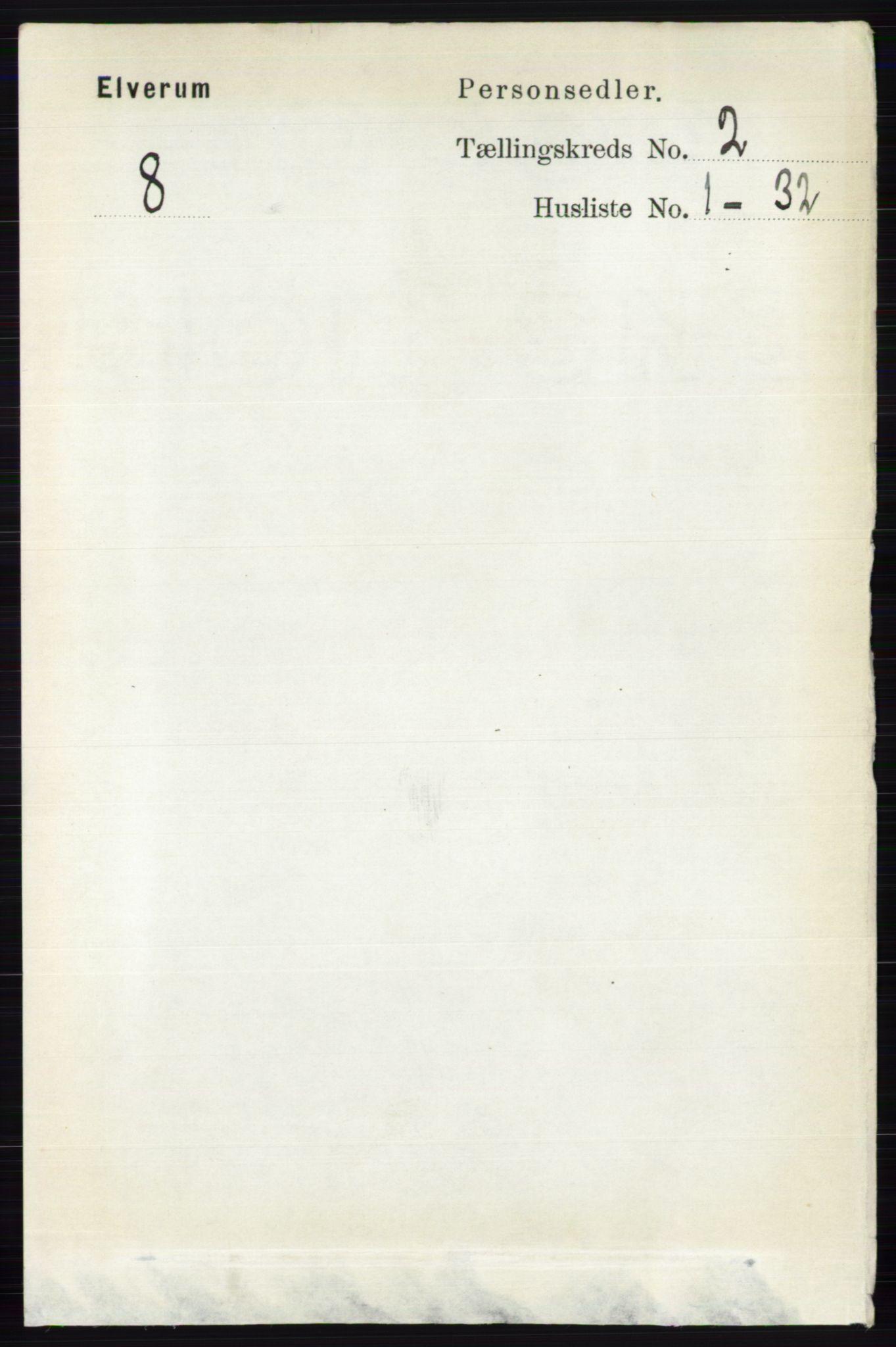 RA, Folketelling 1891 for 0427 Elverum herred, 1891, s. 1216