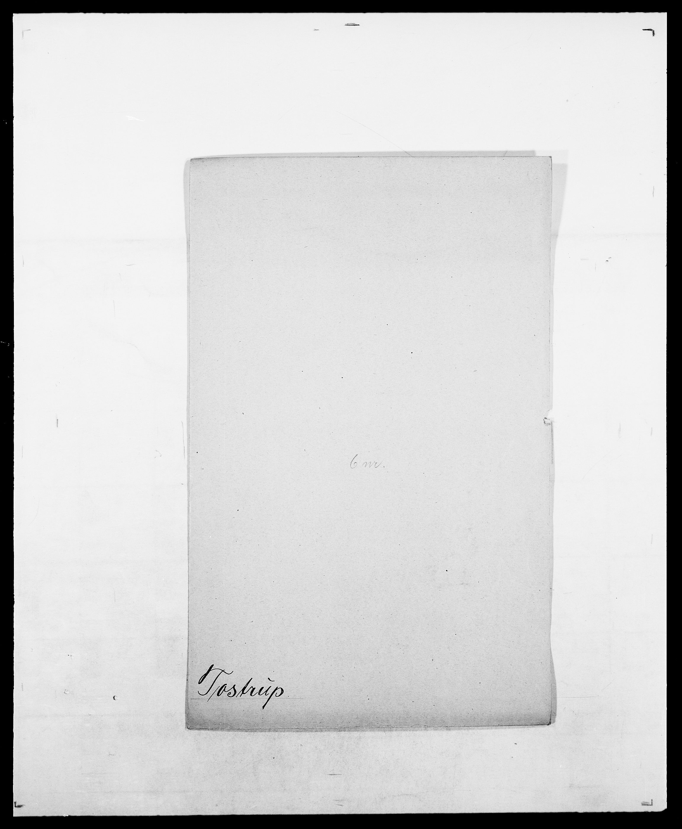 SAO, Delgobe, Charles Antoine - samling, D/Da/L0039: Thorsen - Urup, s. 272