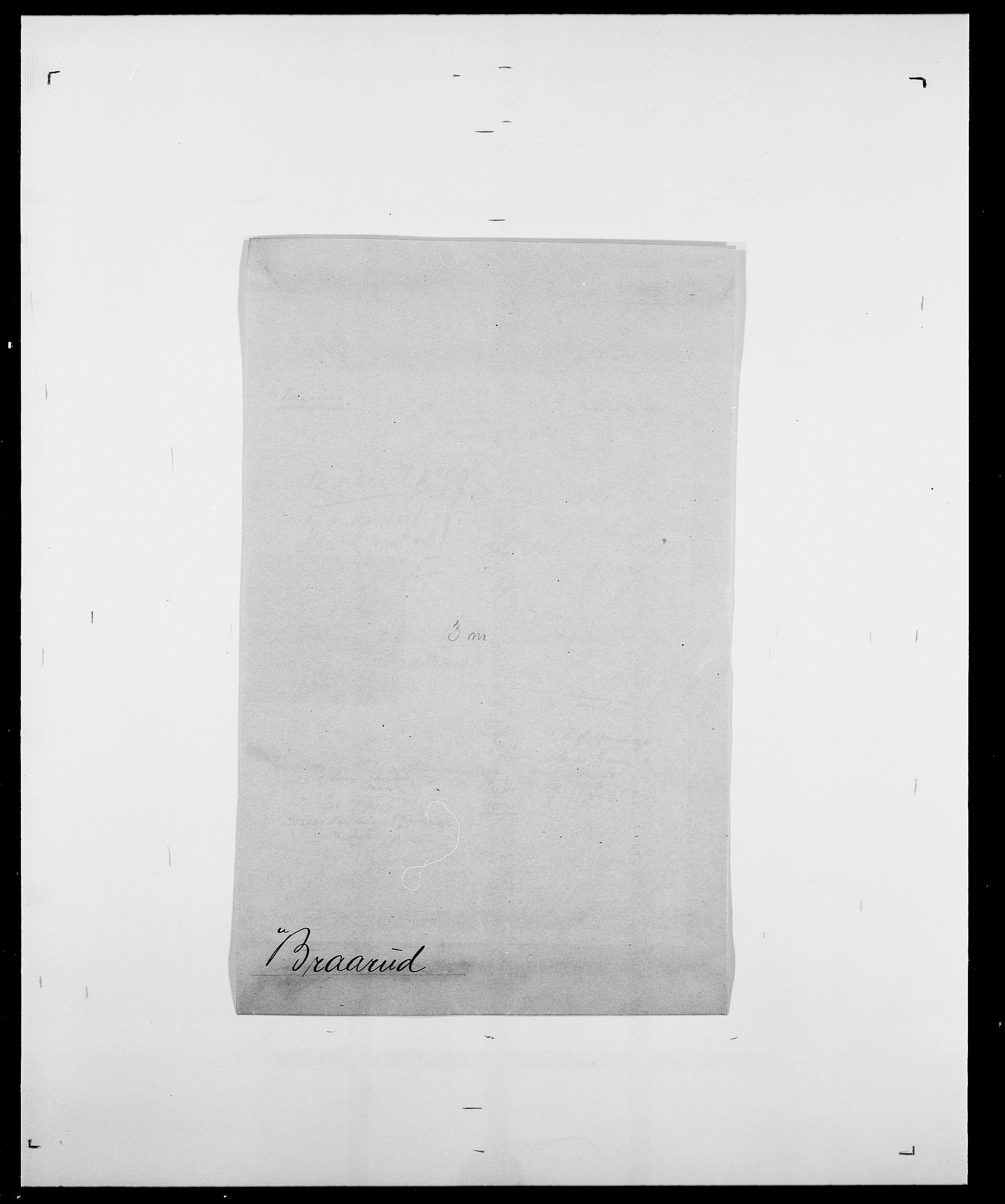 SAO, Delgobe, Charles Antoine - samling, D/Da/L0005: Boalth - Brahm, s. 421