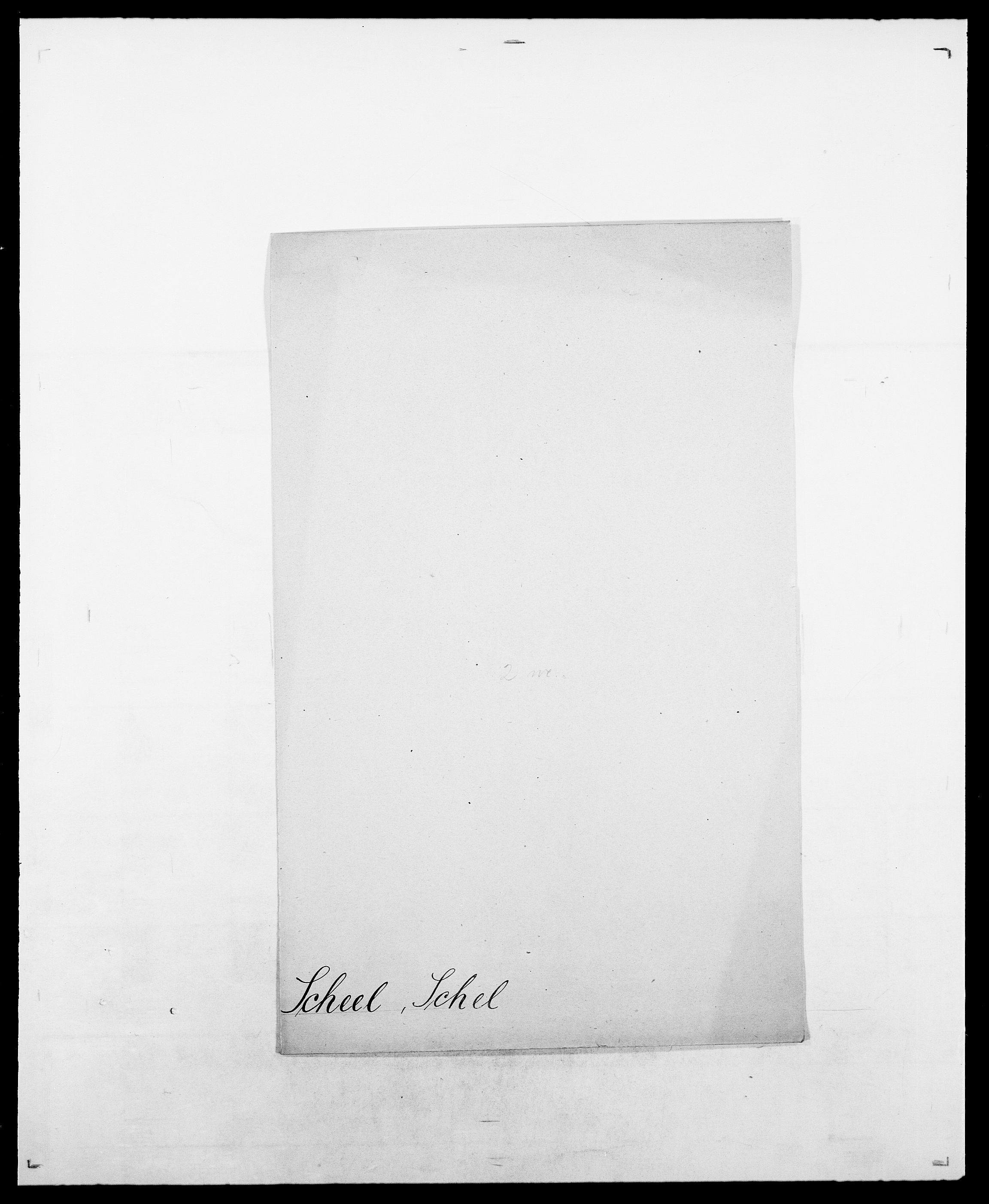 SAO, Delgobe, Charles Antoine - samling, D/Da/L0034: Saabye - Schmincke, s. 426