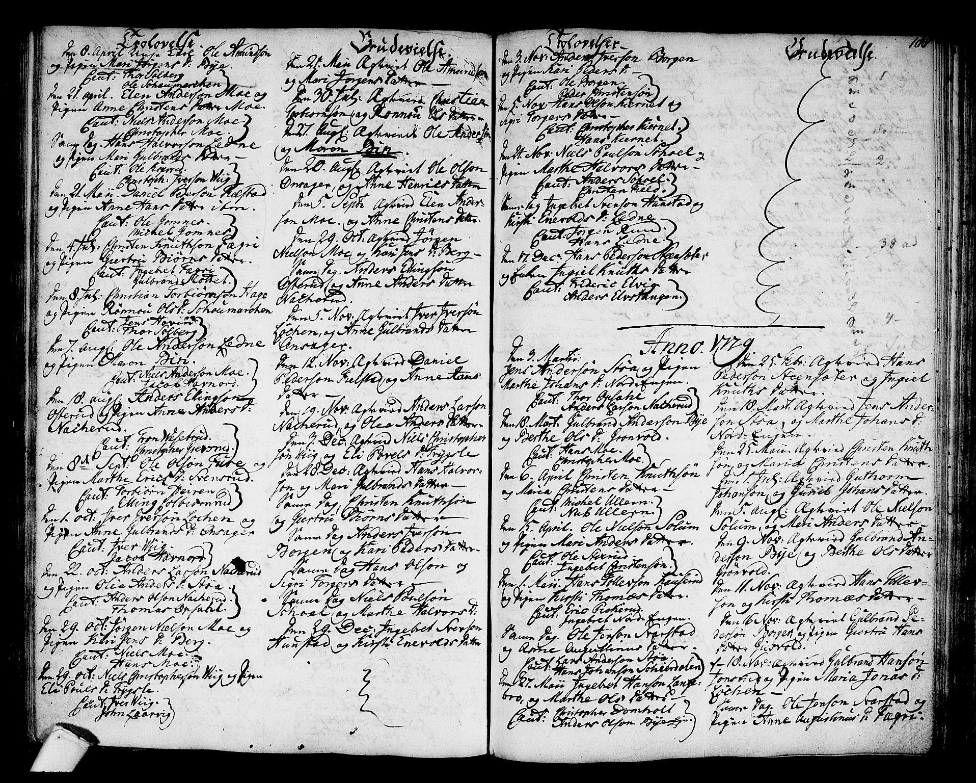 SAKO, Hole kirkebøker, F/Fa/L0002: Ministerialbok nr. I 2, 1766-1814, s. 188