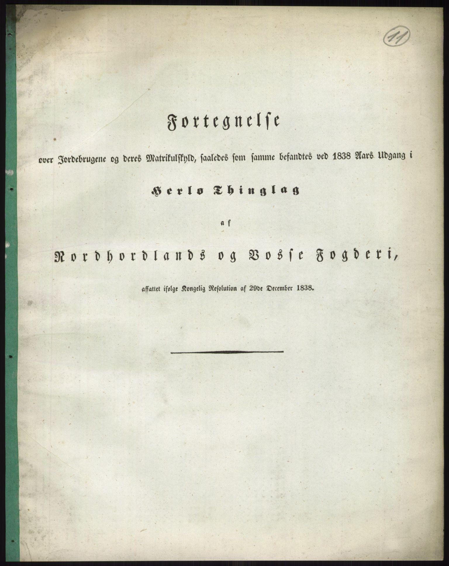 RA, 1838-matrikkelen (publikasjon)*, 1838, s. 11