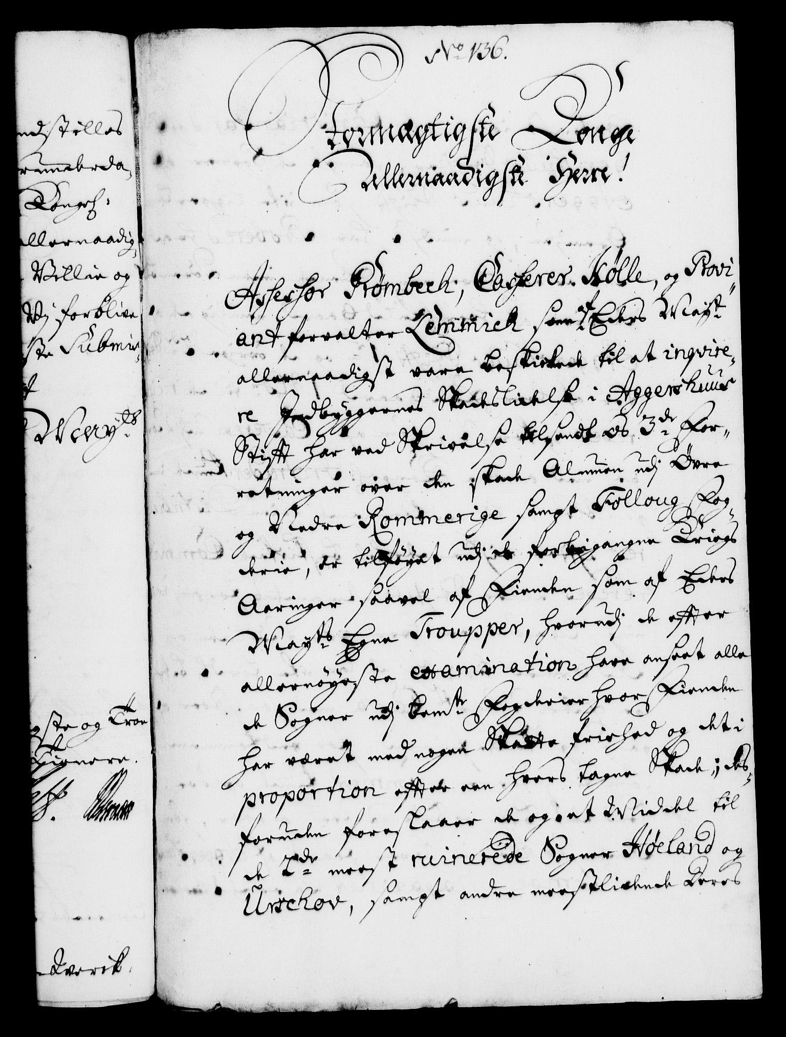 RA, Rentekammeret, Kammerkanselliet, G/Gf/Gfa/L0005: Norsk relasjons- og resolusjonsprotokoll (merket RK 52.5), 1722, s. 740