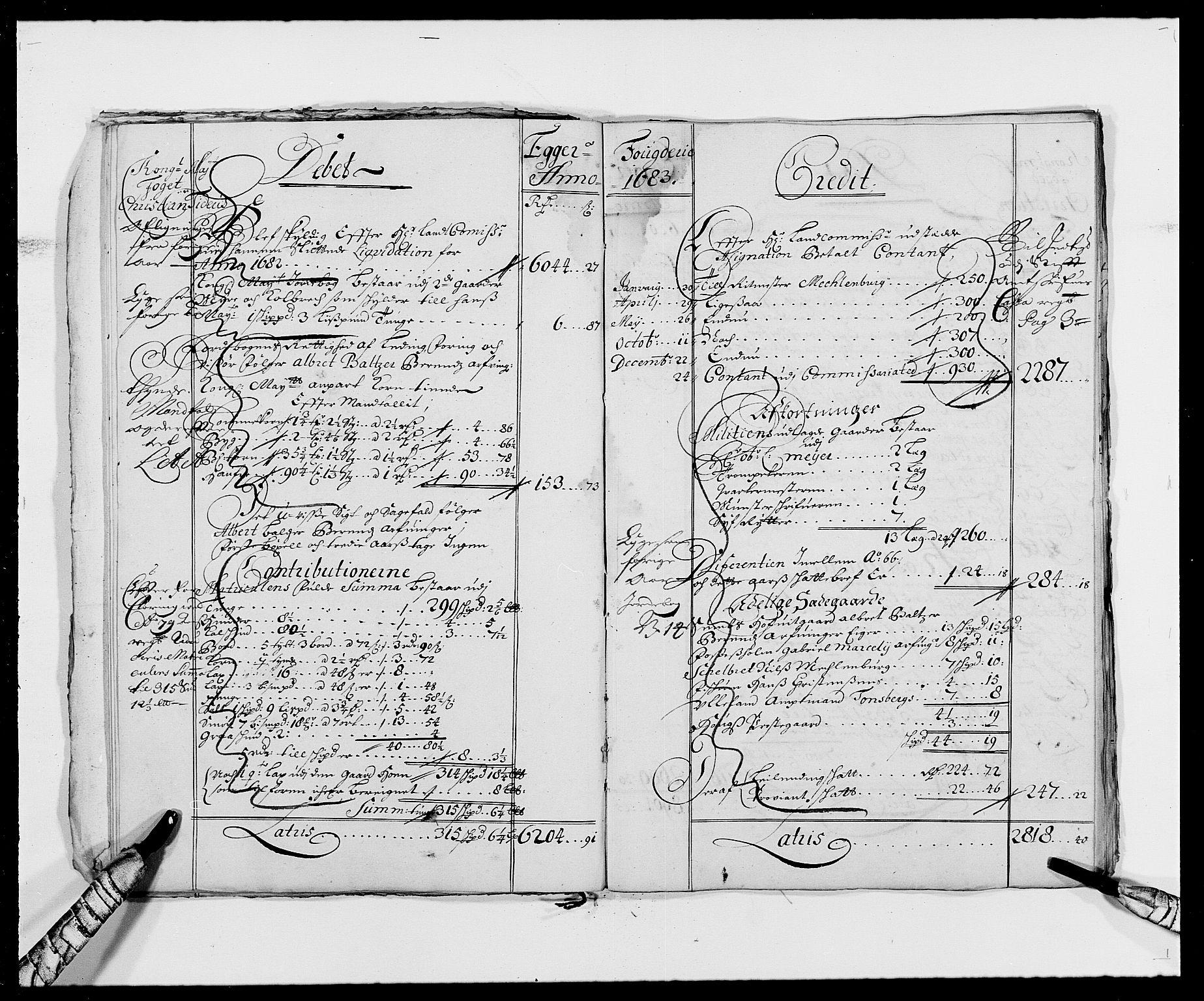 RA, Rentekammeret inntil 1814, Reviderte regnskaper, Fogderegnskap, R26/L1684: Fogderegnskap Eiker, 1679-1686, s. 18
