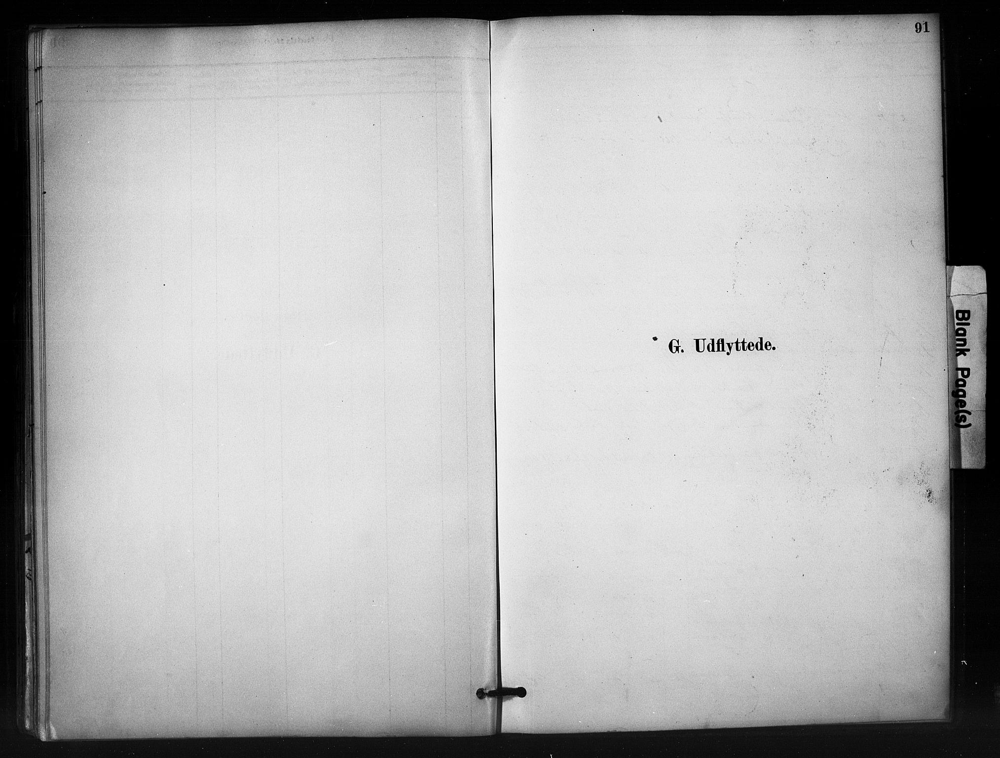 SAH, Nord-Aurdal prestekontor, Ministerialbok nr. 12, 1883-1895, s. 91