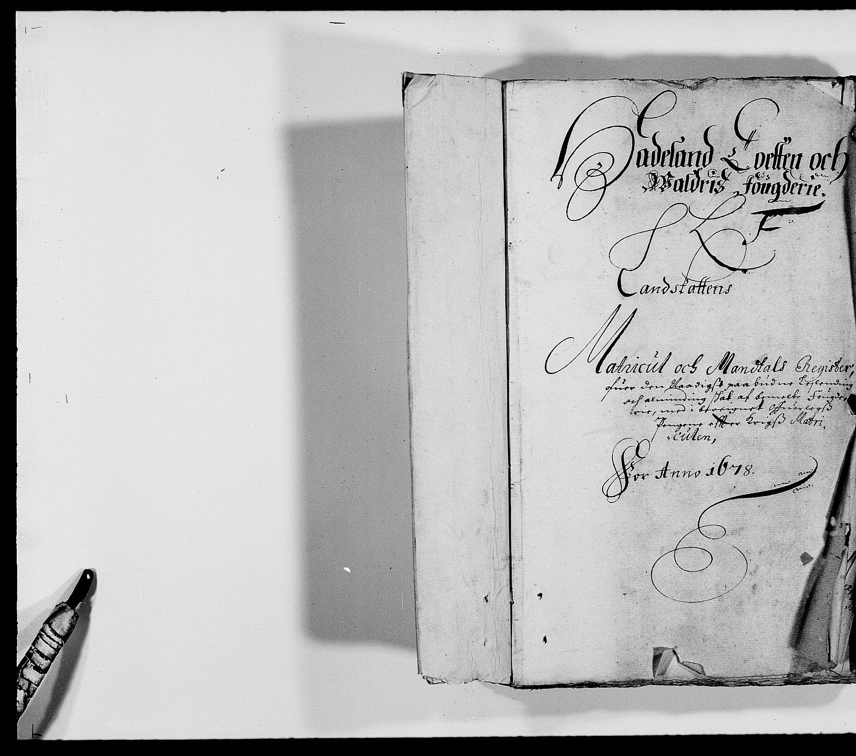 RA, Rentekammeret inntil 1814, Reviderte regnskaper, Fogderegnskap, R18/L1270: Fogderegnskap Hadeland, Toten og Valdres, 1678, s. 188