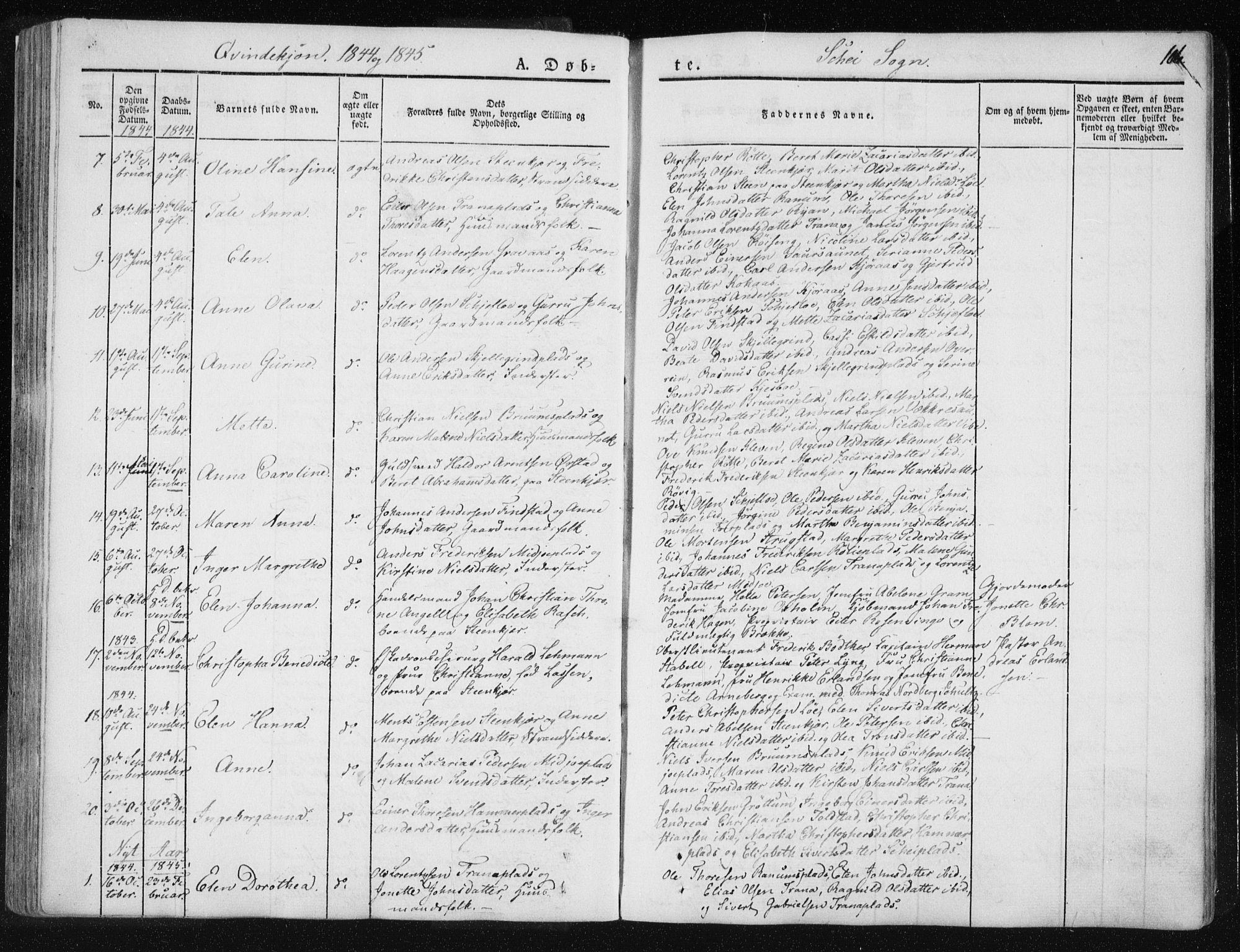 SAT, Ministerialprotokoller, klokkerbøker og fødselsregistre - Nord-Trøndelag, 735/L0339: Ministerialbok nr. 735A06 /2, 1836-1848, s. 106