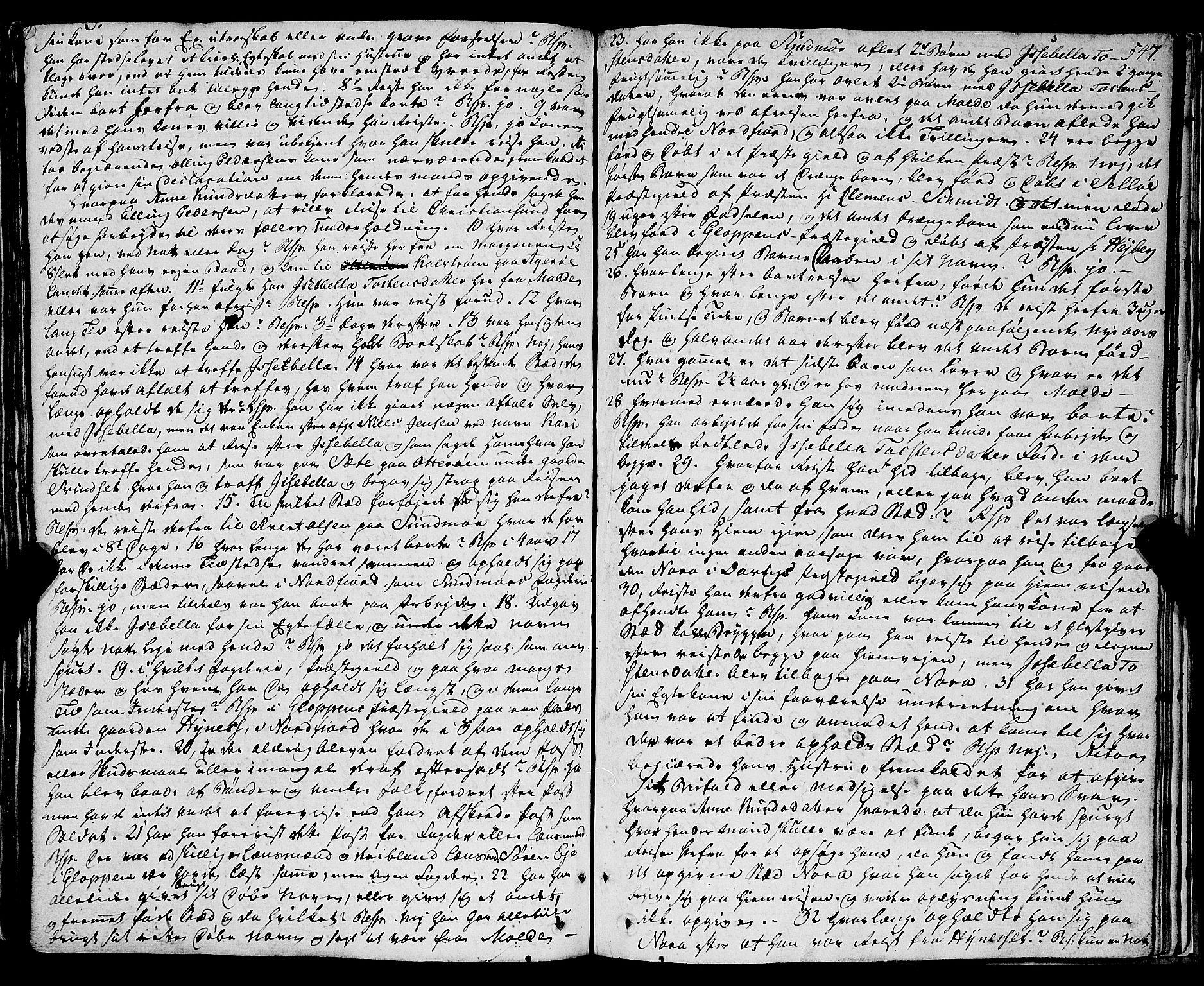 SAT, Molde byfogd, 1/1A/L0001: Justisprotokoll, 1764-1796, s. 548
