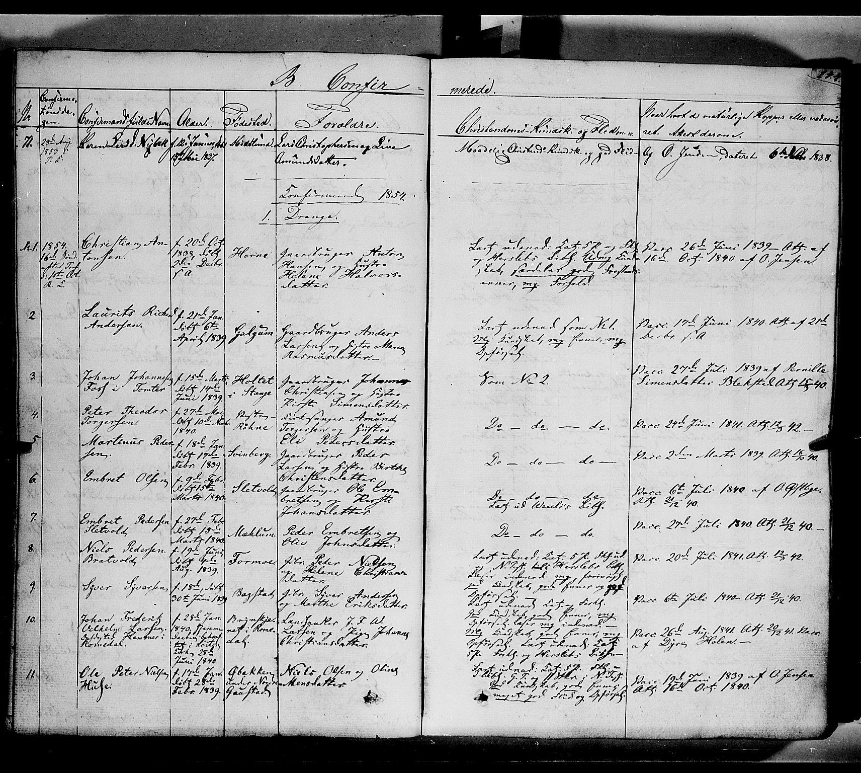 SAH, Romedal prestekontor, K/L0004: Ministerialbok nr. 4, 1847-1861, s. 144