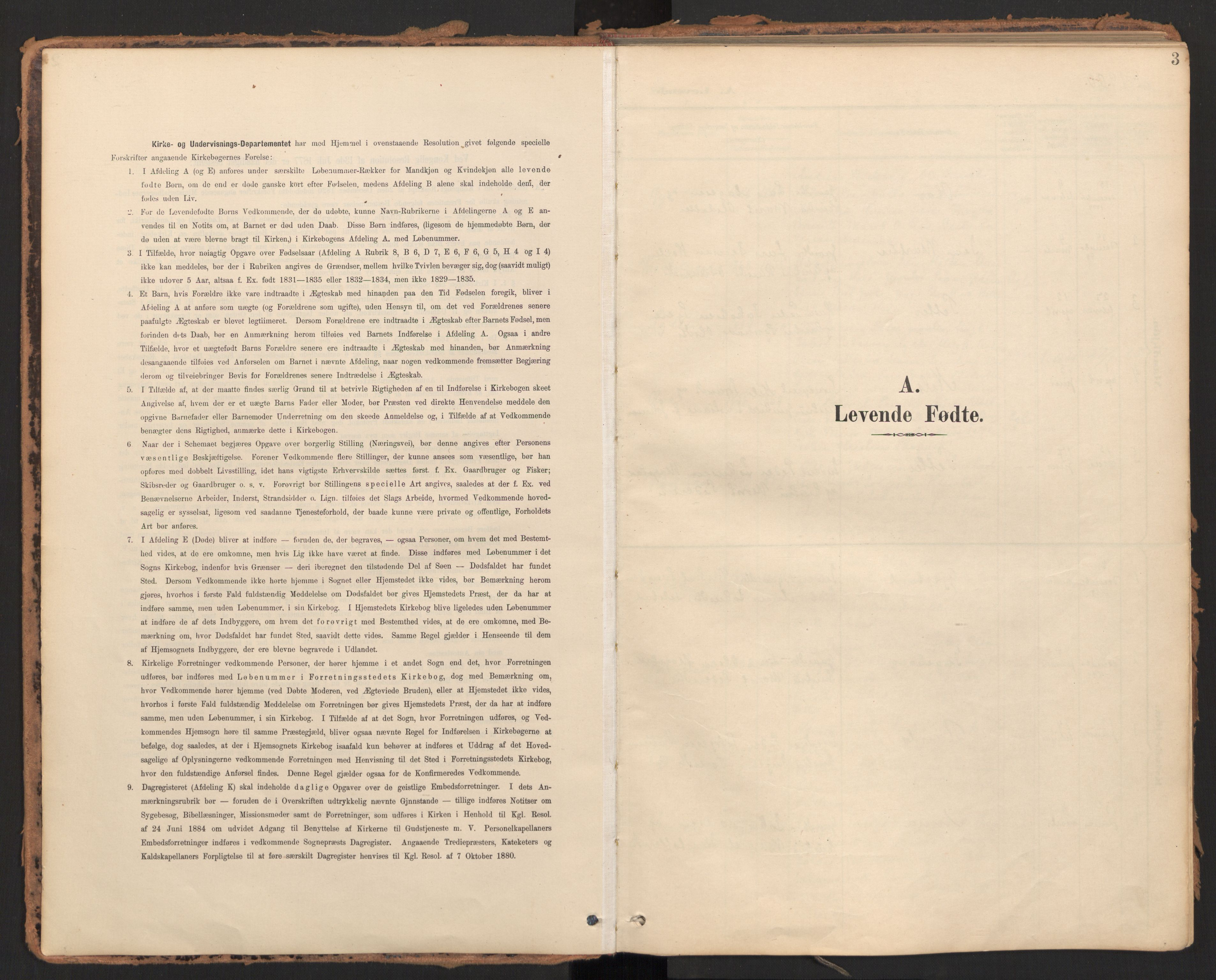 SAT, Ministerialprotokoller, klokkerbøker og fødselsregistre - Møre og Romsdal, 595/L1048: Ministerialbok nr. 595A10, 1900-1917, s. 3