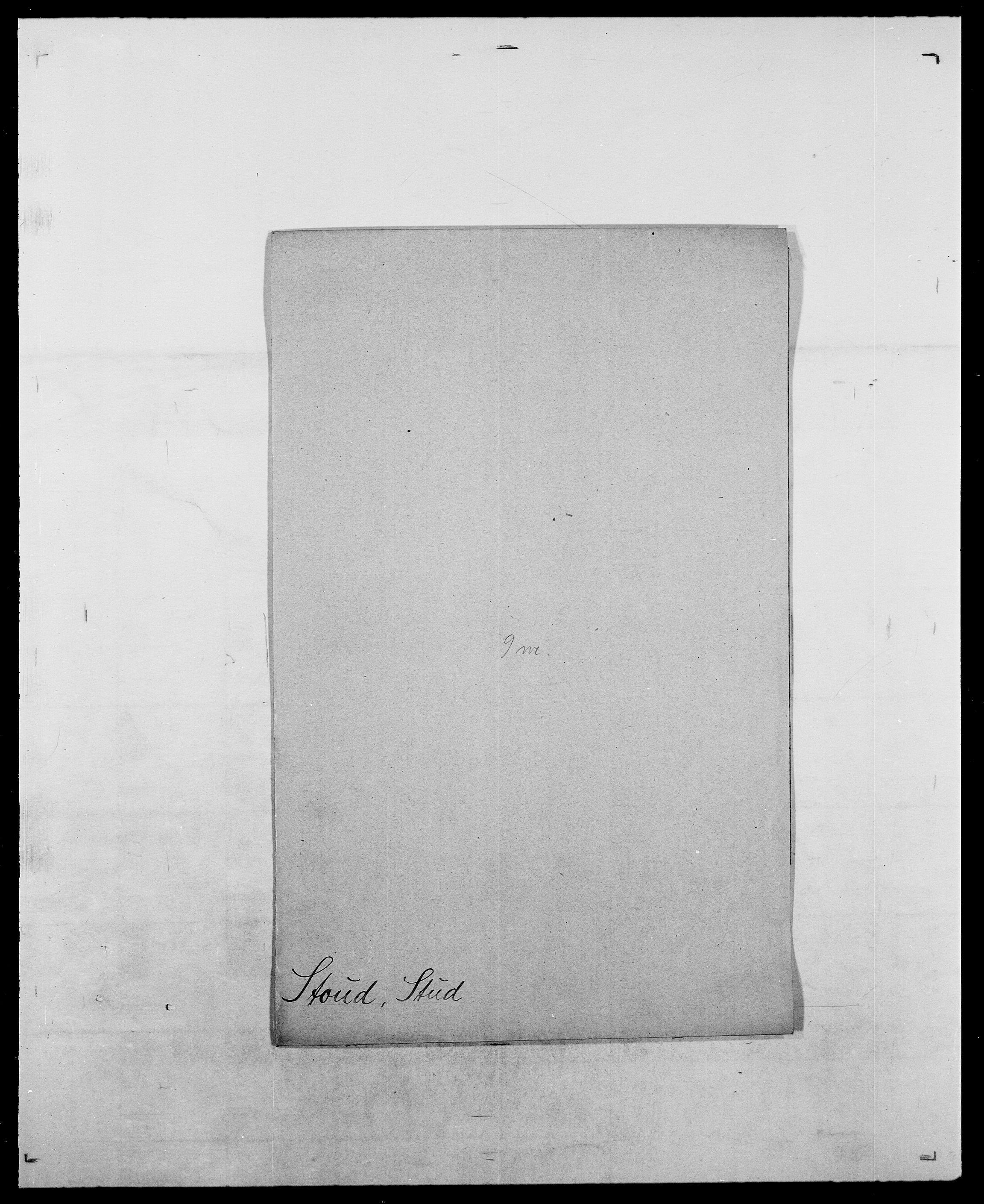 SAO, Delgobe, Charles Antoine - samling, D/Da/L0037: Steen, Sthen, Stein - Svare, Svanige, Svanne, se også Svanning og Schwane, s. 525