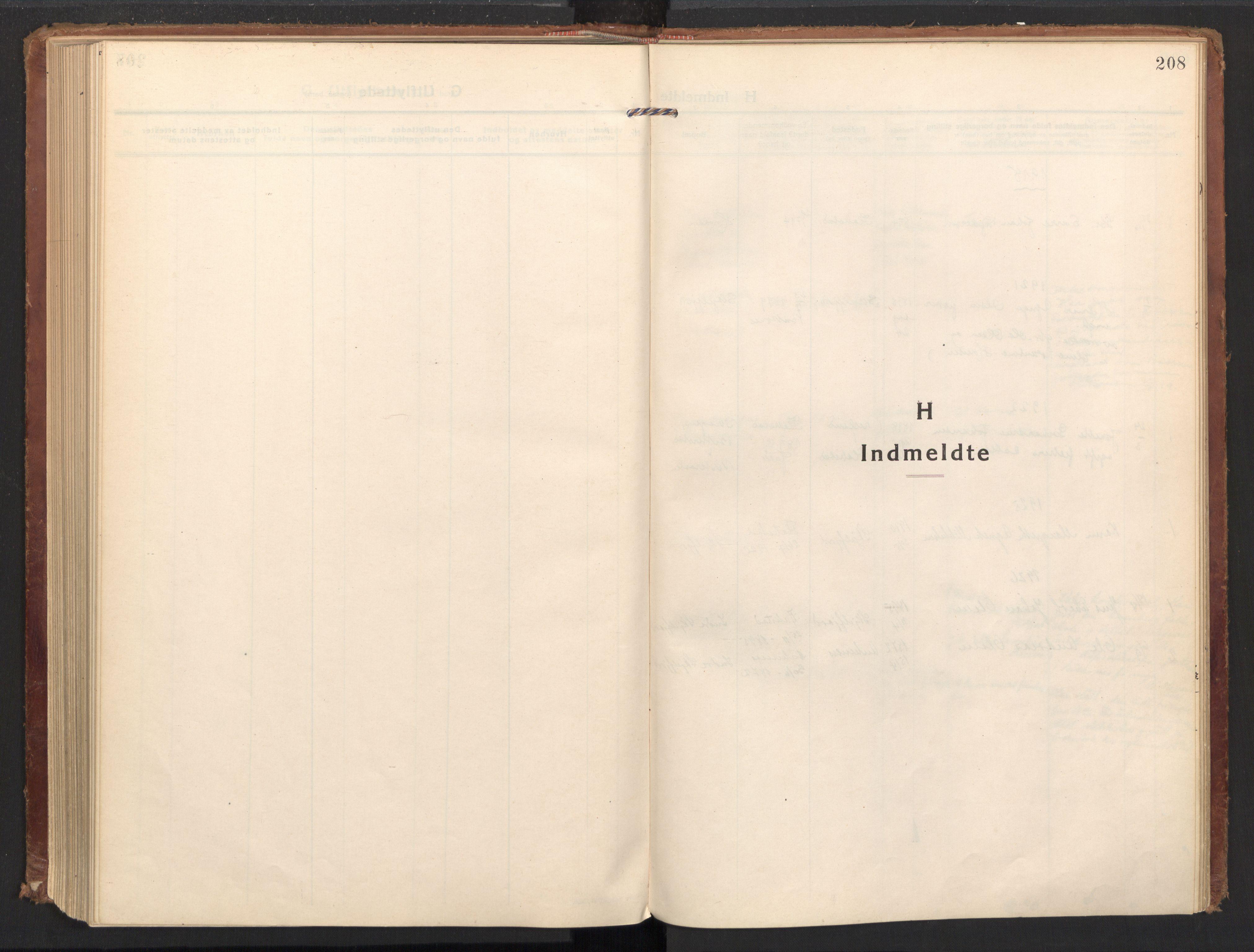 SAT, Ministerialprotokoller, klokkerbøker og fødselsregistre - Nordland, 885/L1210: Ministerialbok nr. 885A10, 1916-1926, s. 208