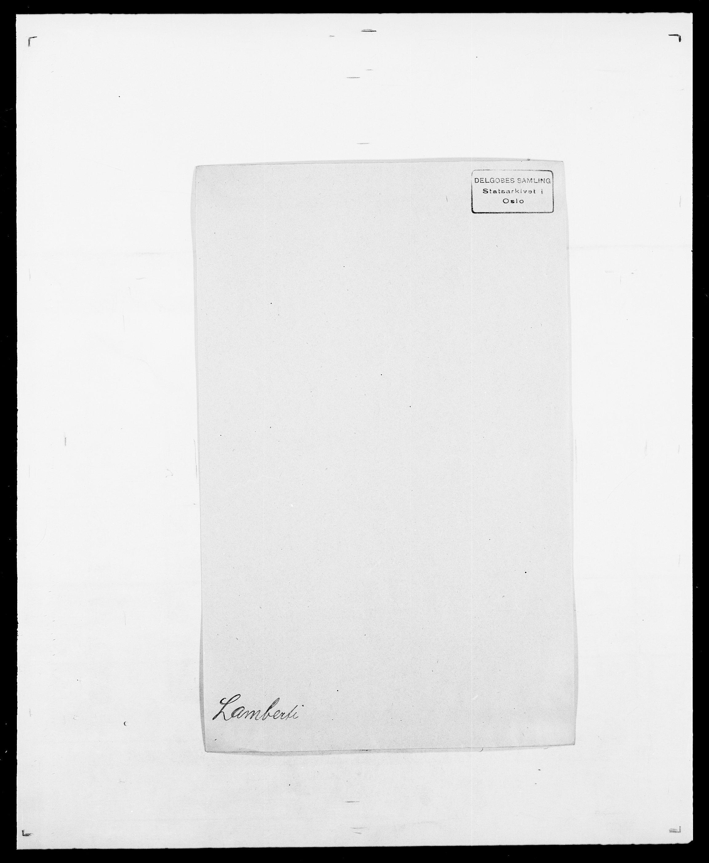 SAO, Delgobe, Charles Antoine - samling, D/Da/L0022: Krog - Lasteen, s. 432