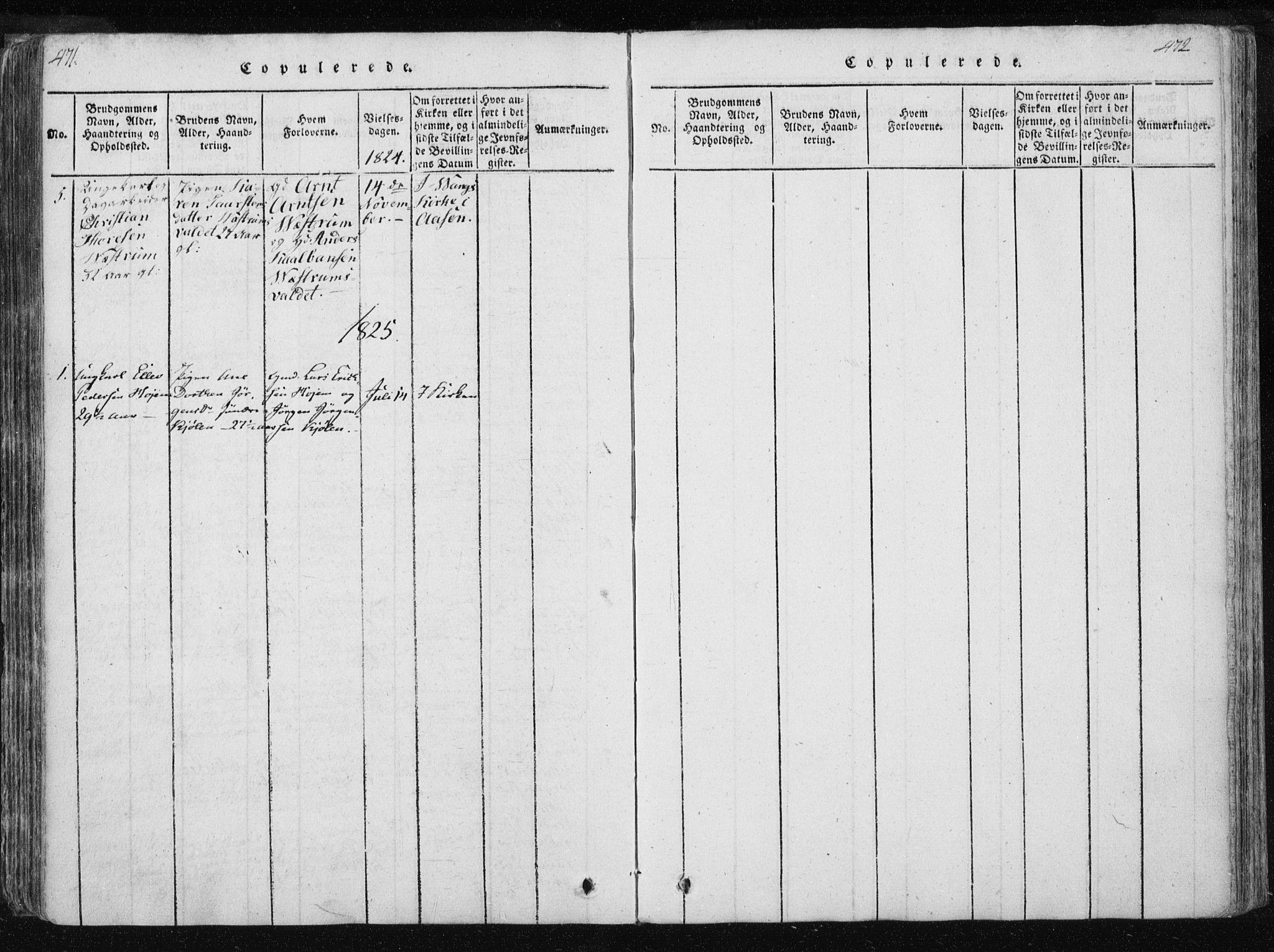 SAT, Ministerialprotokoller, klokkerbøker og fødselsregistre - Nord-Trøndelag, 717/L0148: Ministerialbok nr. 717A04 /3, 1816-1825, s. 471-472