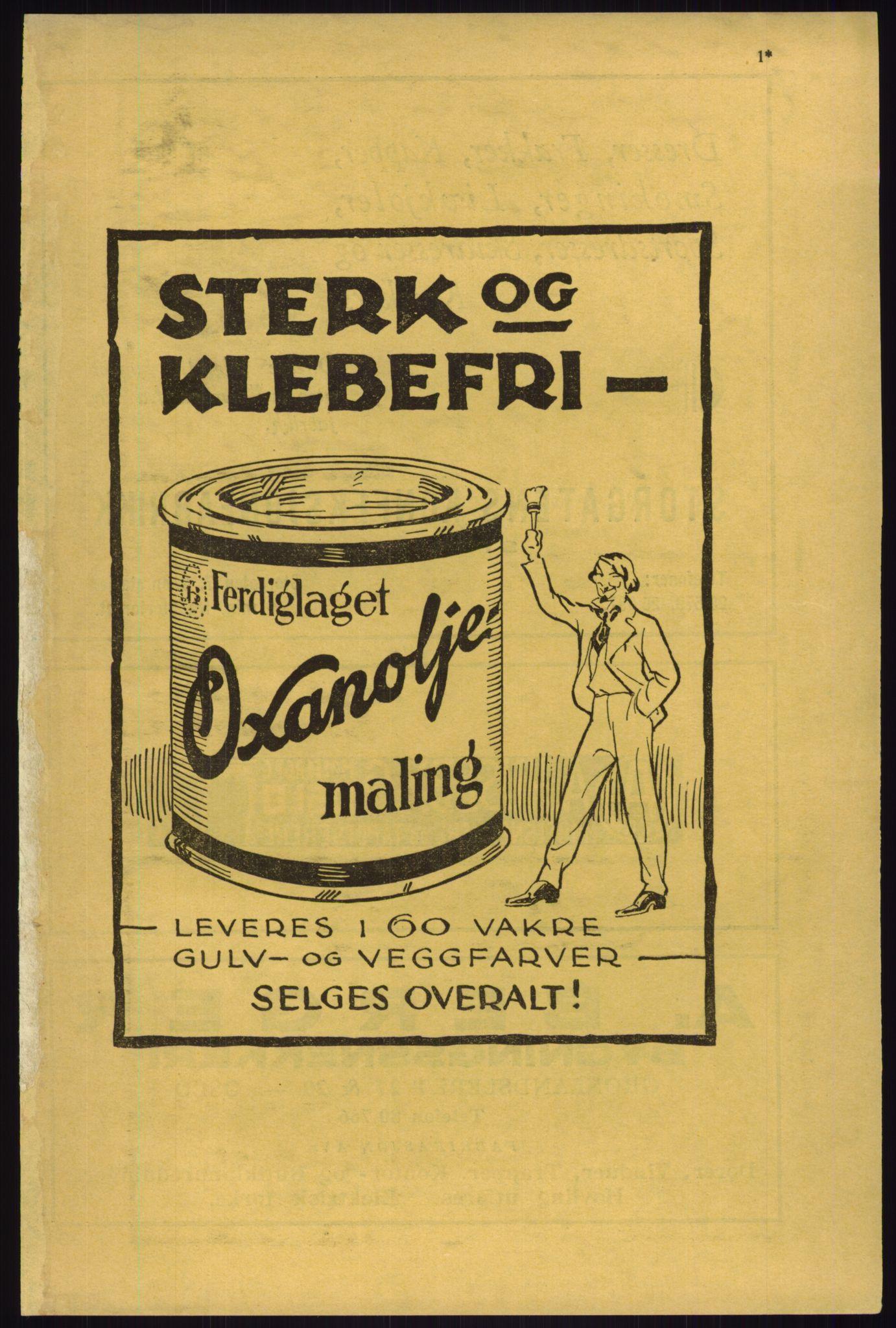 RA, Oslo adressebok (publikasjon)*, 1933, s. 1