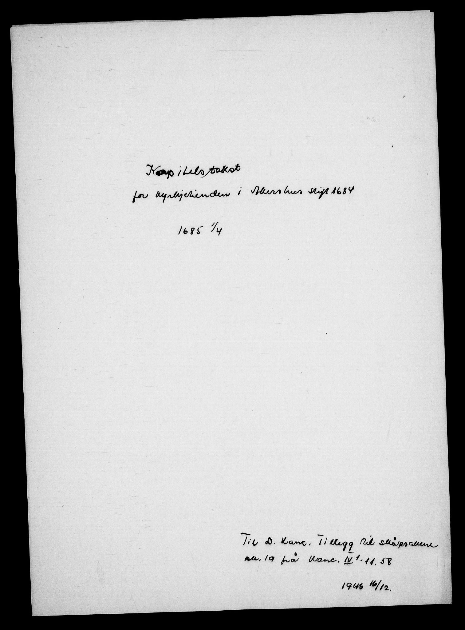 RA, Danske Kanselli, Skapsaker, G/L0019: Tillegg til skapsakene, 1616-1753, s. 240