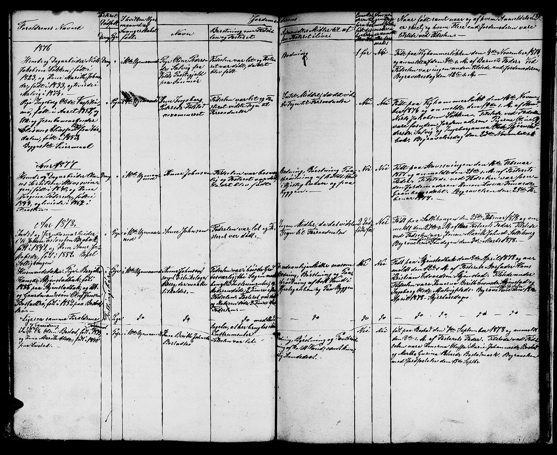 SAT, Ministerialprotokoller, klokkerbøker og fødselsregistre - Sør-Trøndelag, 616/L0422: Klokkerbok nr. 616C05, 1850-1888, s. 182
